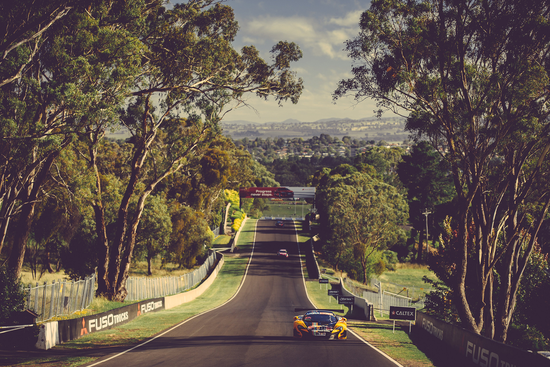 McLaren GT3 - on track - Photo - Bathurst 12hr 2016
