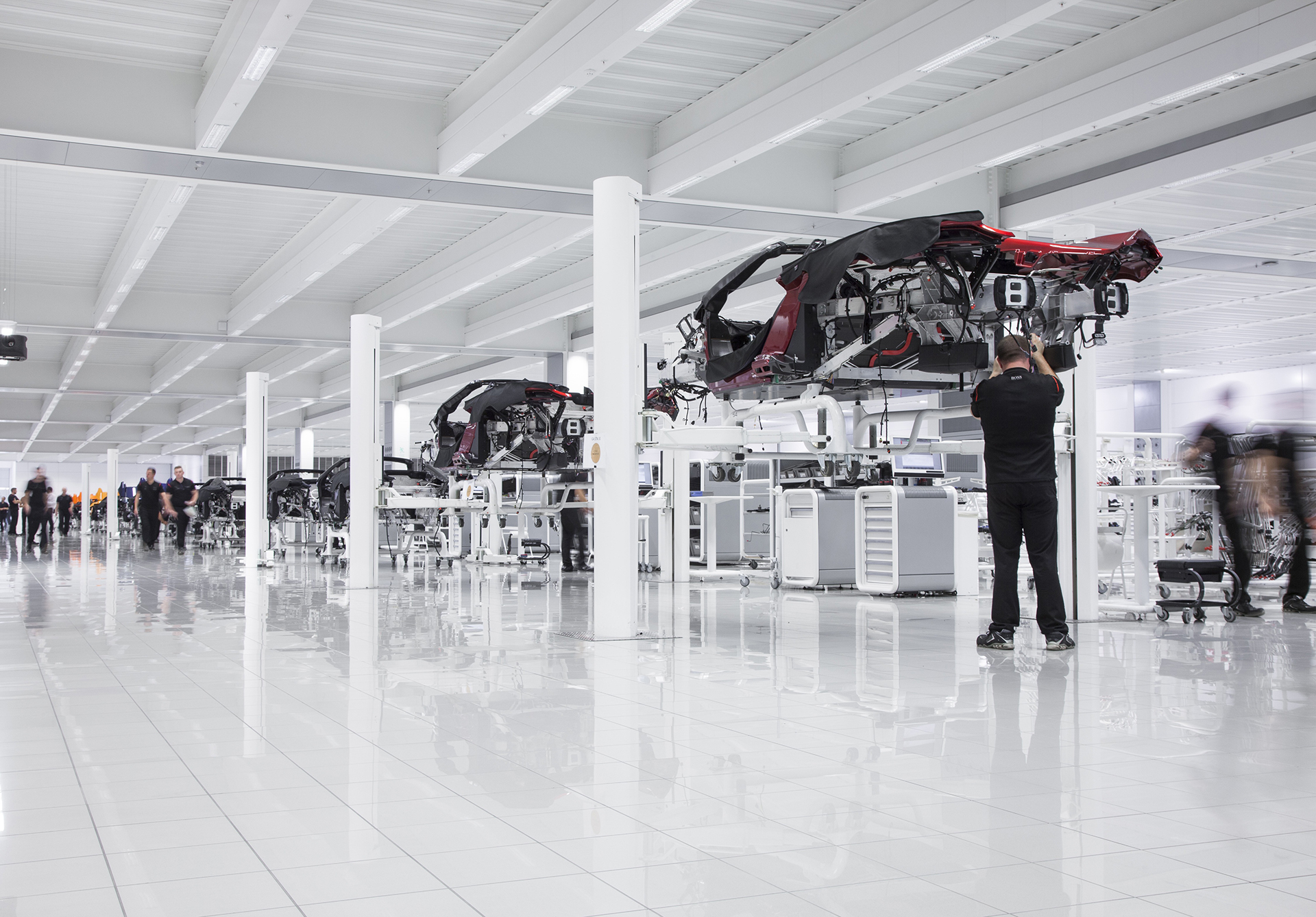 Product Development area at the McLaren Technology Centre - Photos via McLaren Automotive