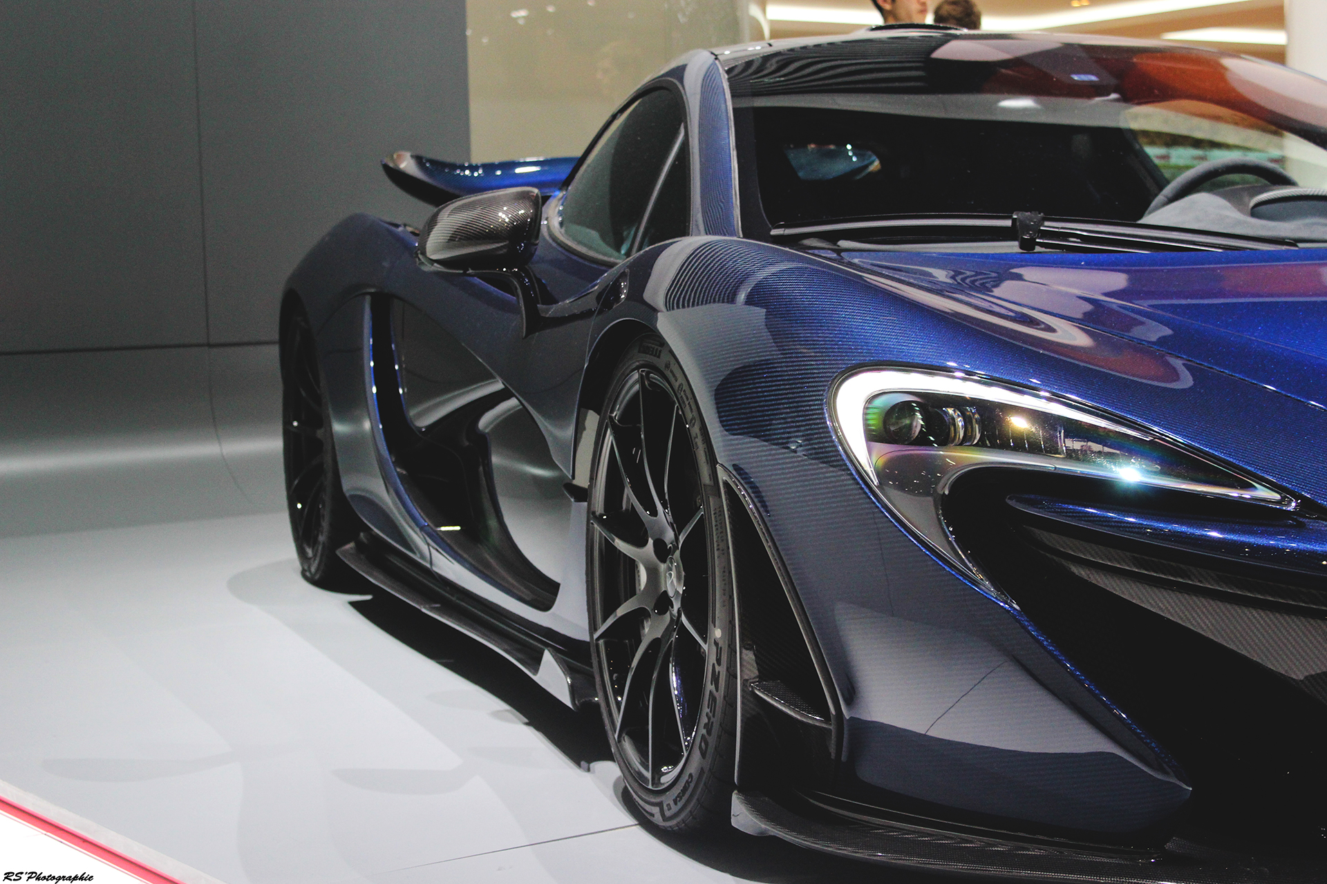 McLaren P1 MSO - side - Geneva 2016 - Arnaud Demasier RS Photographie