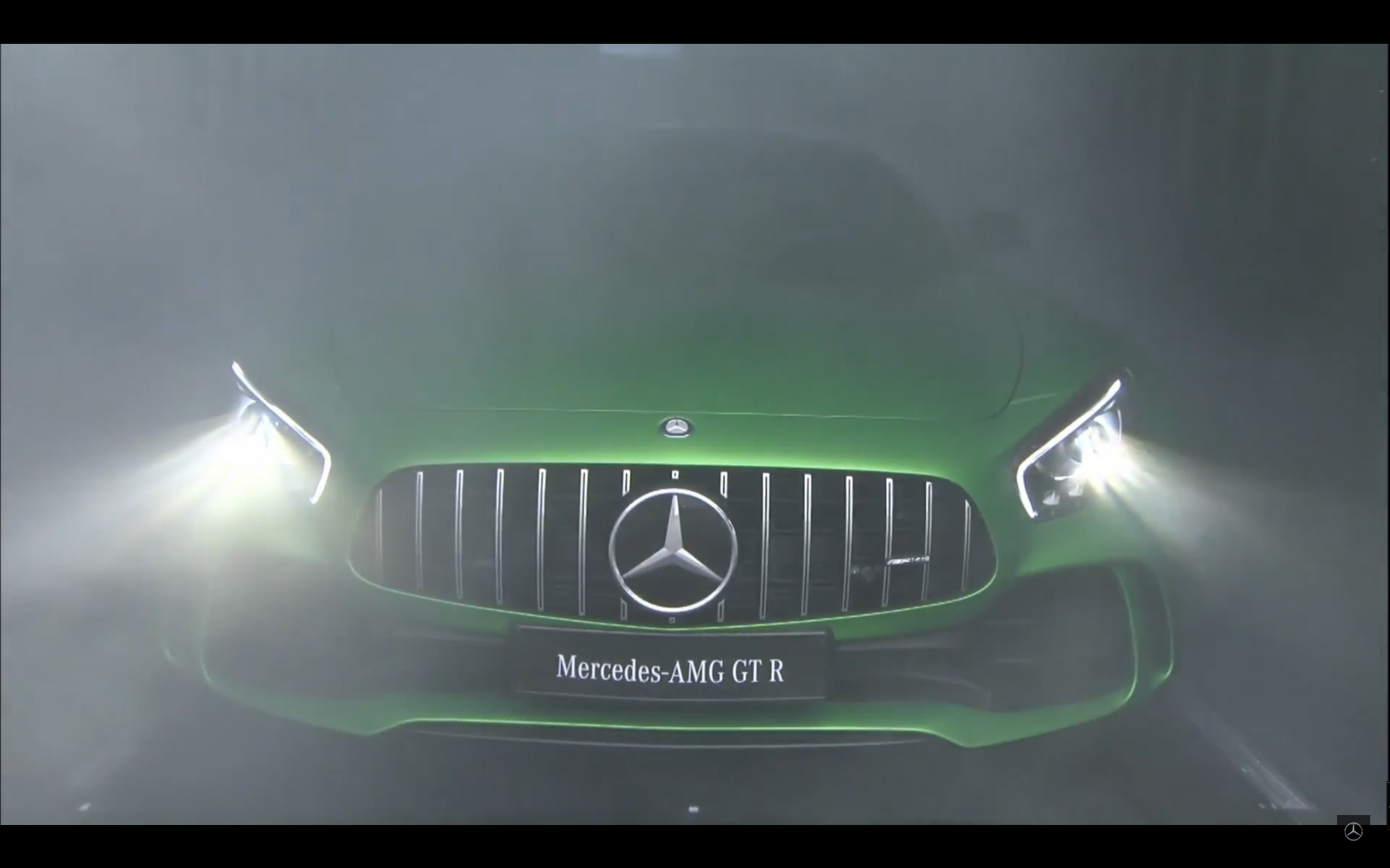 Mercedes-AMG GT R - 2016 - front reveal live