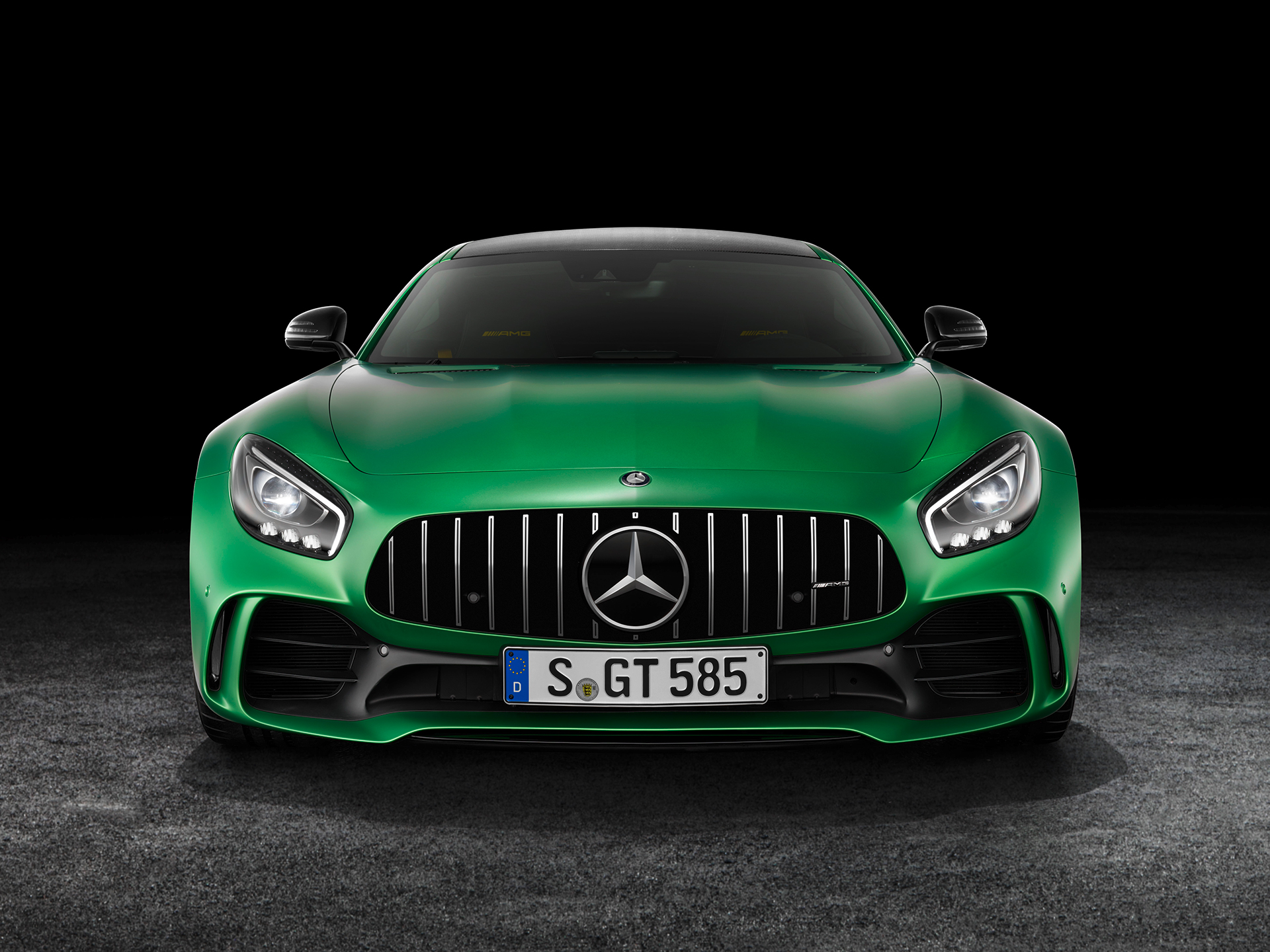 Mercedes-AMG GT R - 2016 - front / avant