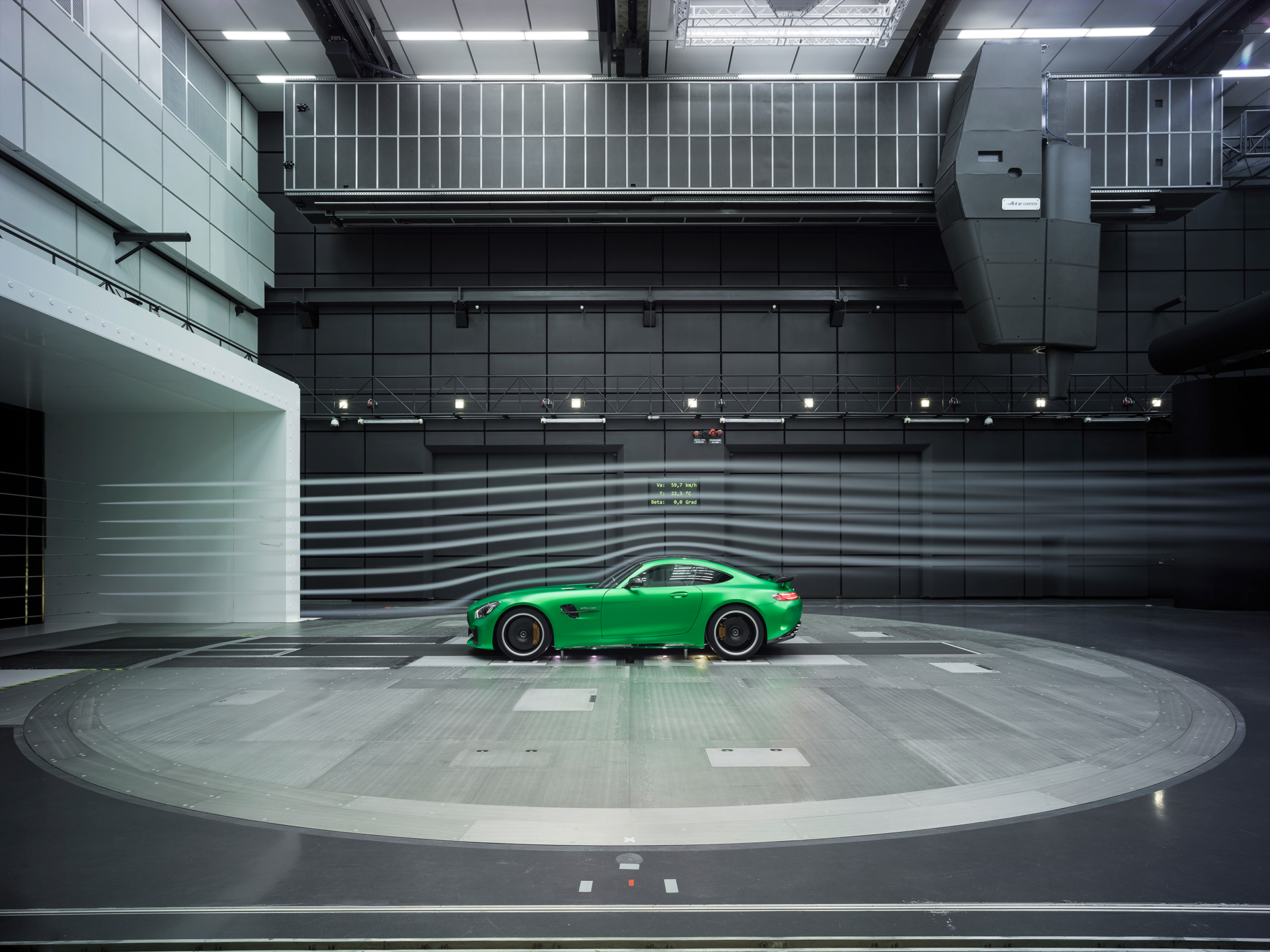 Mercedes-AMG GT R - 2016 - side-face / profil - aerodynamic