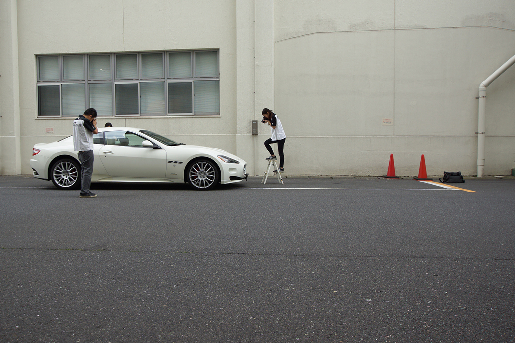 National Art Center Tokyo - 2015 - Gran Turismo - prise de photos - Maserati