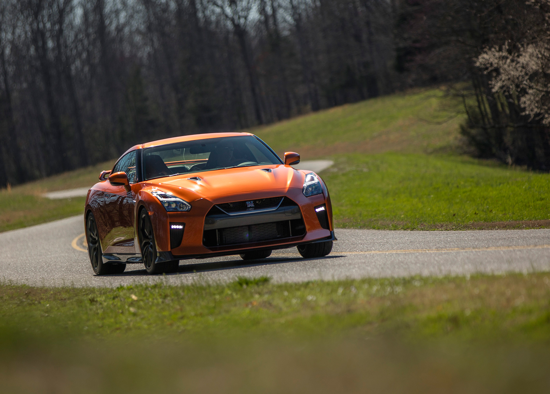 Nissan GT-R - 2017 - photo front road