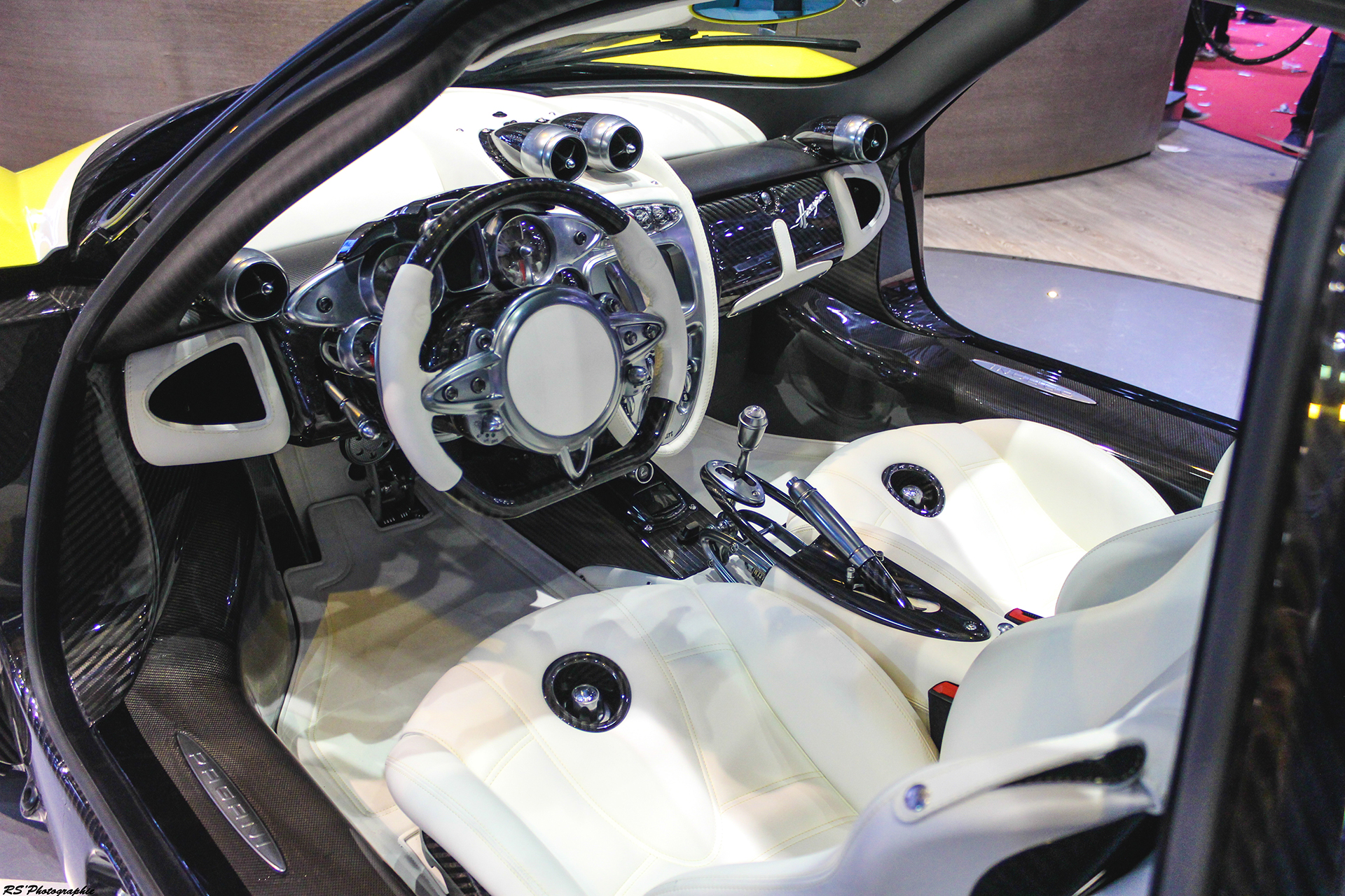Pagani - interior - Geneva 2016 - Arnaud Demasier RS Photographie