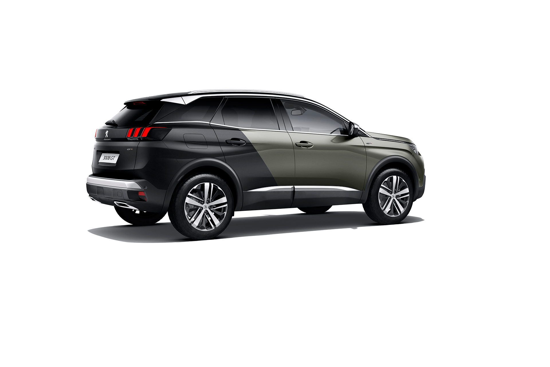 Peugeot 3008 - GT - 2016 - profil arriere / rear side-face