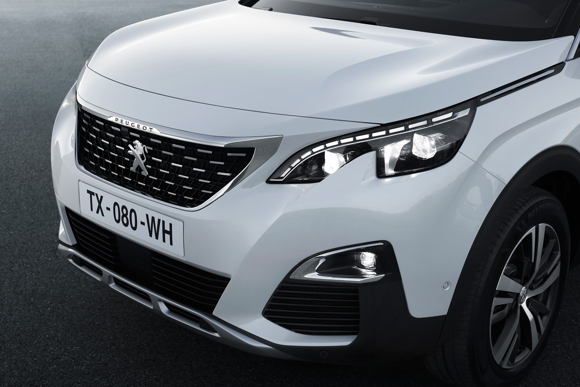 Peugeot 3008 - GT Line - 2016 - optique avant / front light