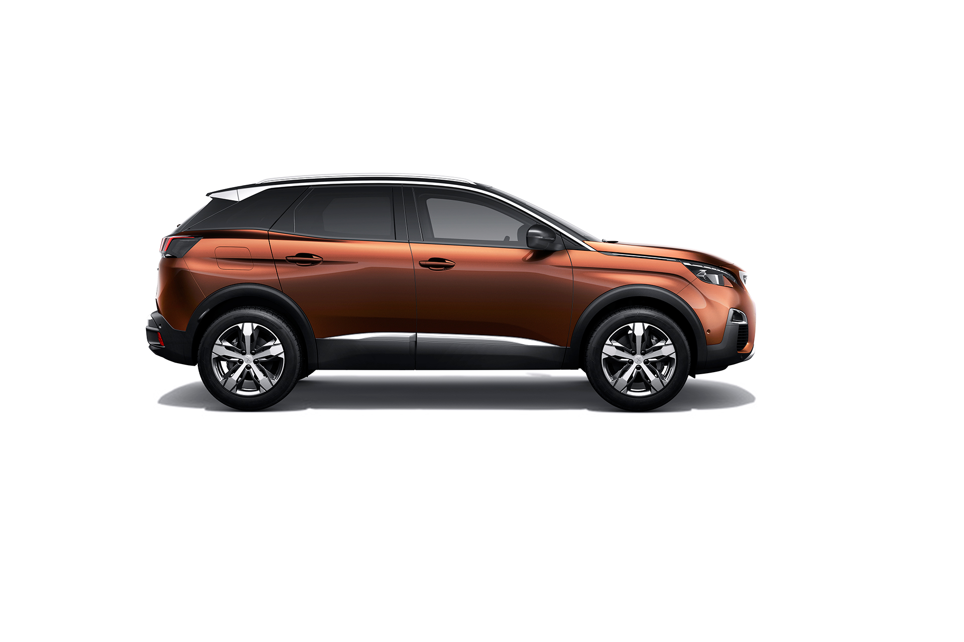 Peugeot 3008 - 2016 - profil / side-face