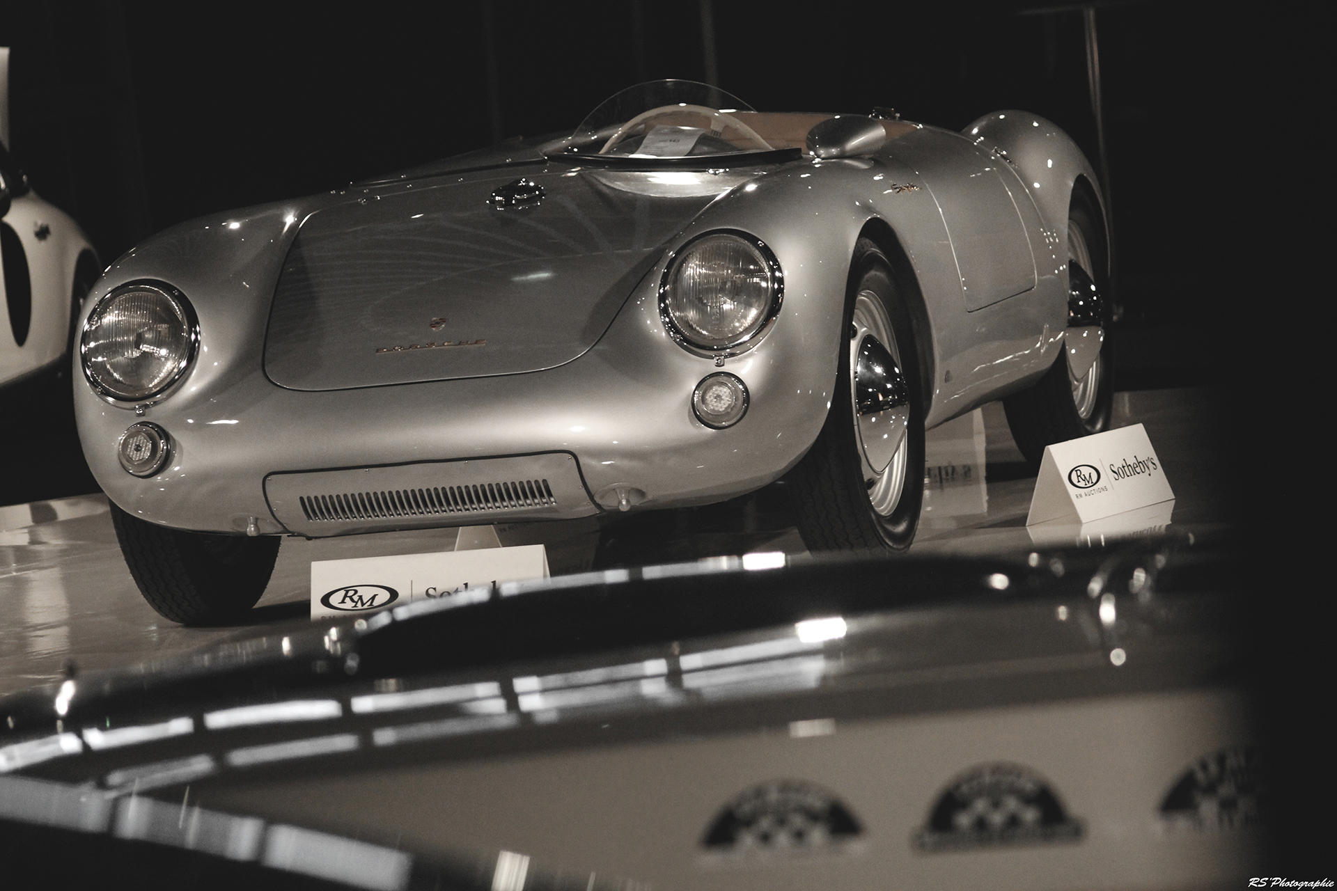 Porsche 550 Spyder by Wendler - 1955 - RM - Auctions - 2016 - Arnaud Demasier RS Photographie