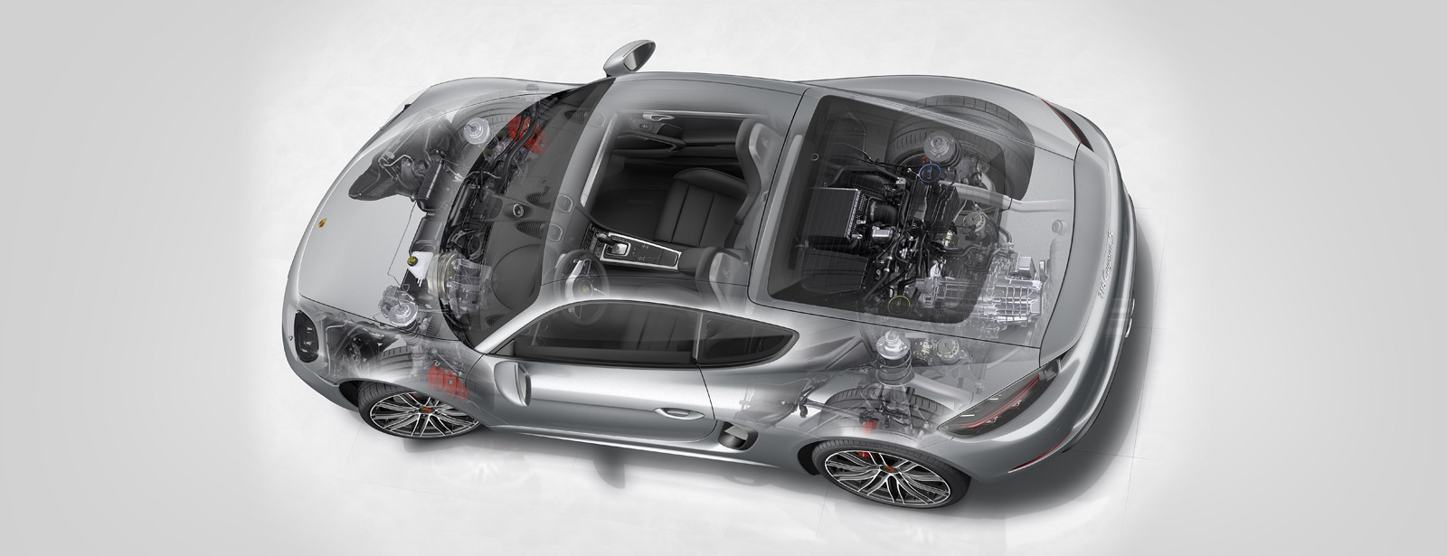 Porsche 718 Cayman - 2016 - powertrain