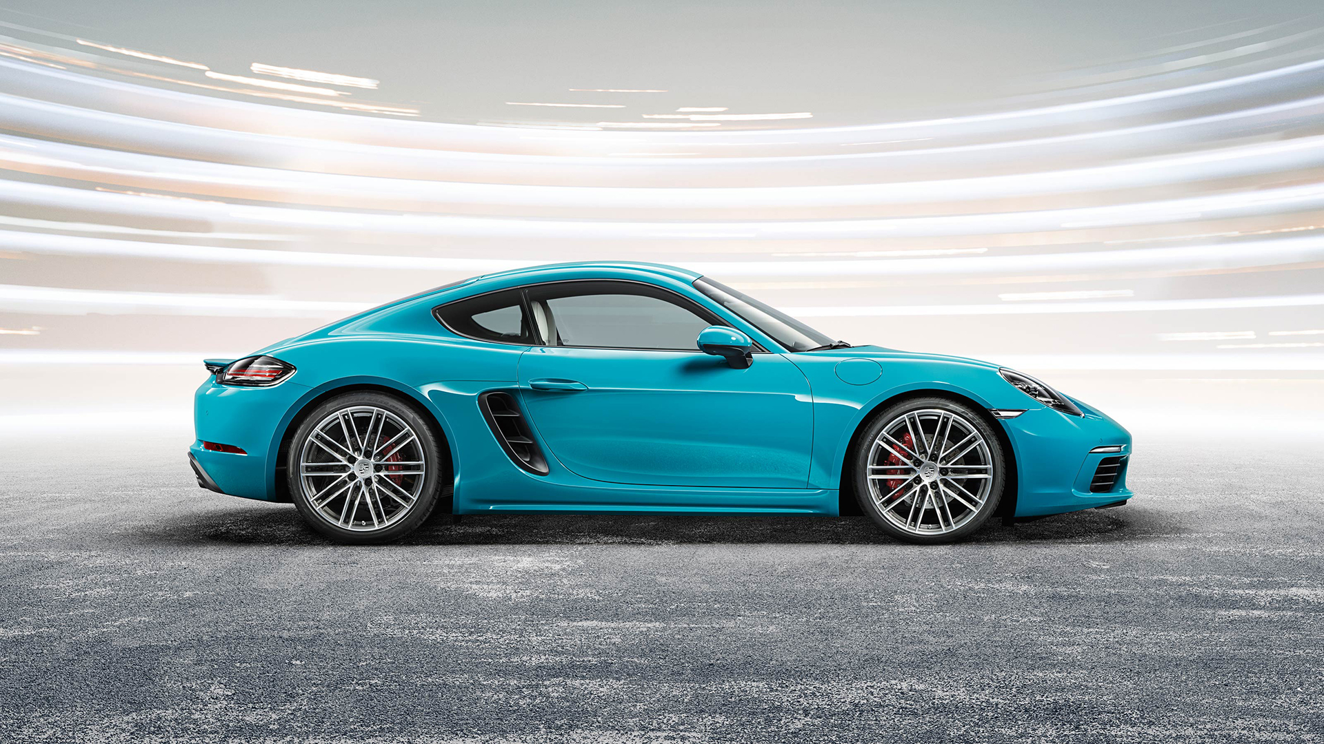 Porsche 718 Cayman S - 2016 - side-face / profil