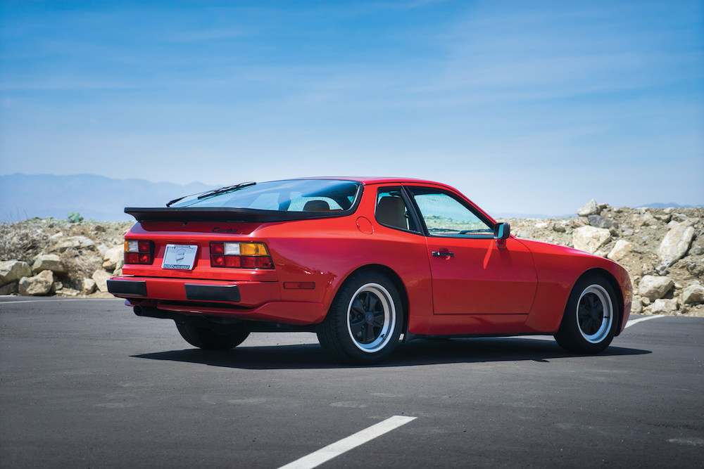 Porsche 944 Turbo - rear - photo via Silodrome