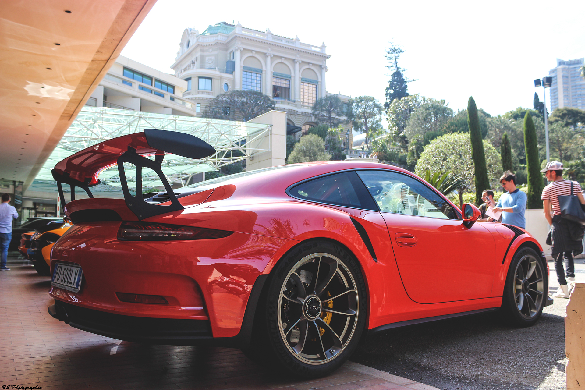 Porsche GT3 RS rear - Top Marques Monaco 2016 - Arnaud Demasier RS Photographie