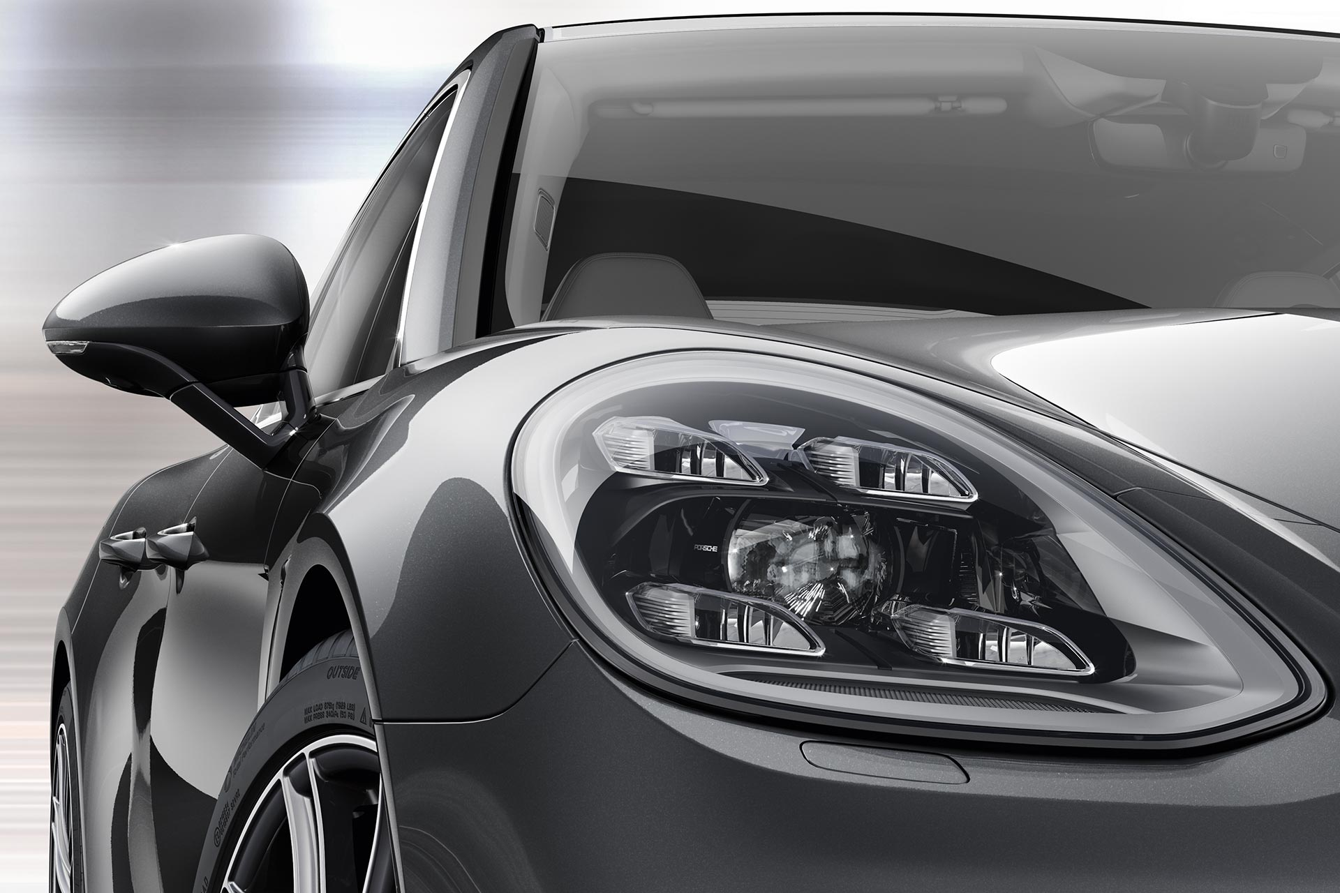 Porsche Panamera - 2016 - front light / optique avant