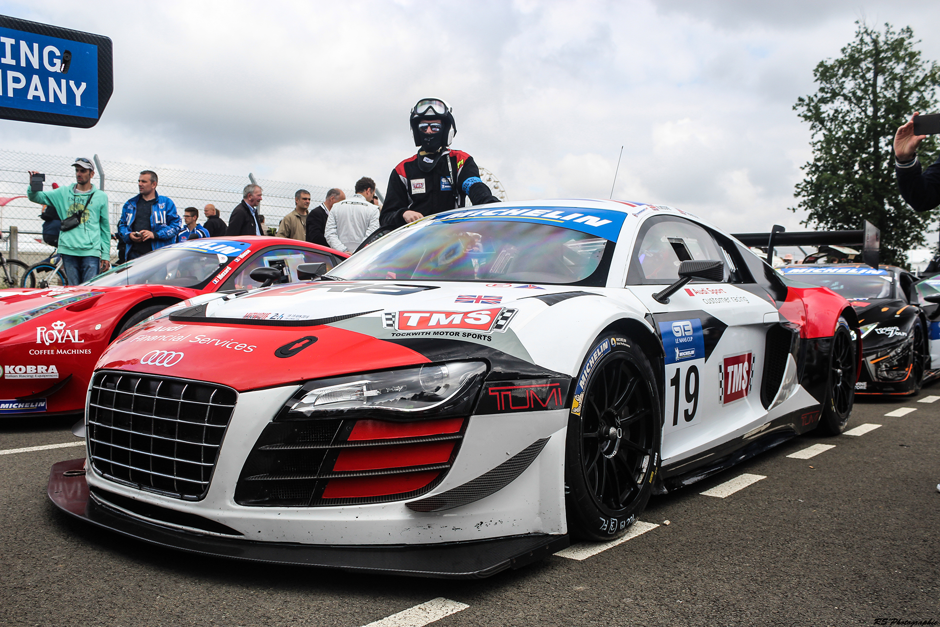 Road to Le Mans 2016 - R8 LMS GT3 - Arnaud Demasier RS Photographie