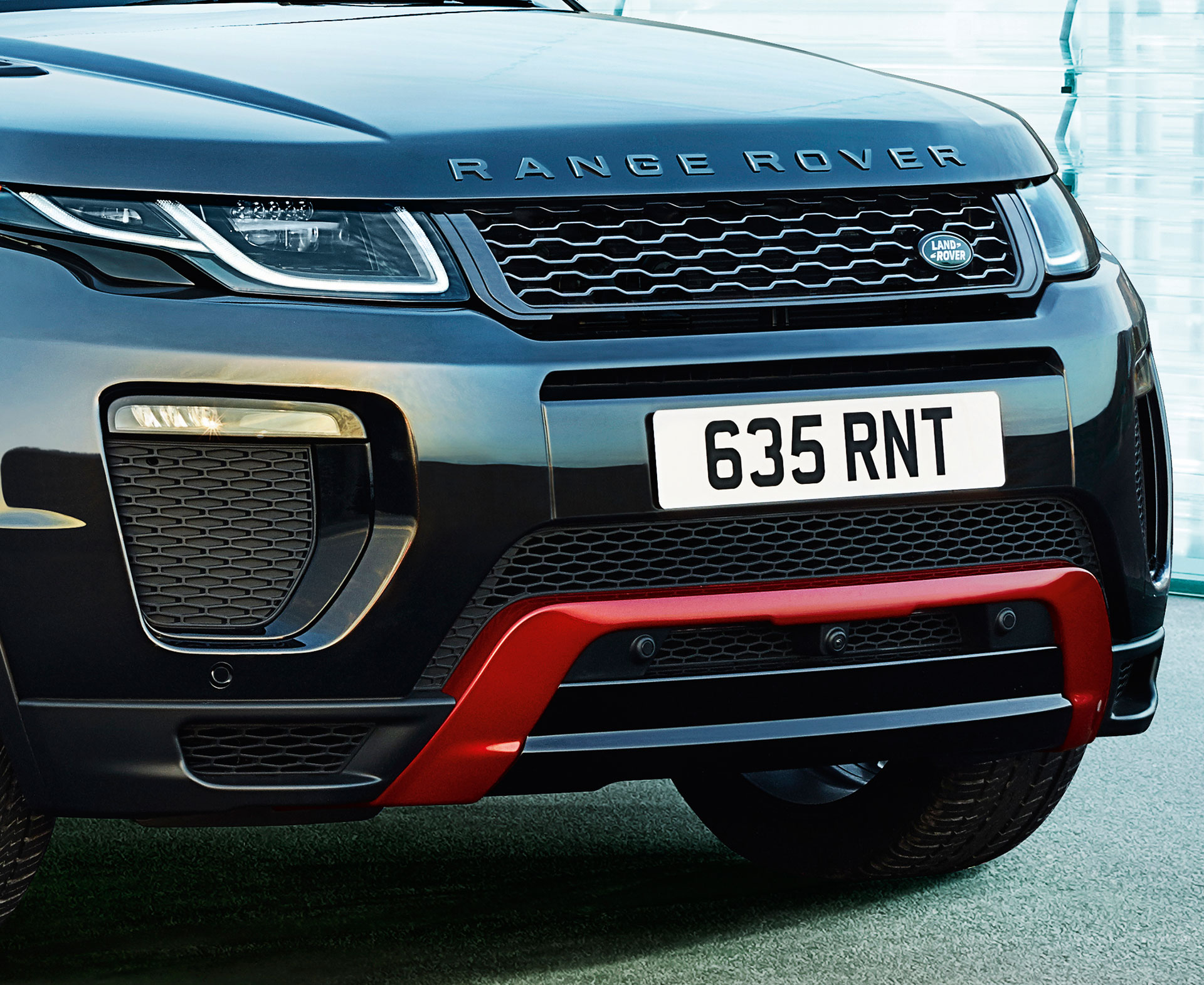Range Rover Evoque - 2016 - front light / optique avant