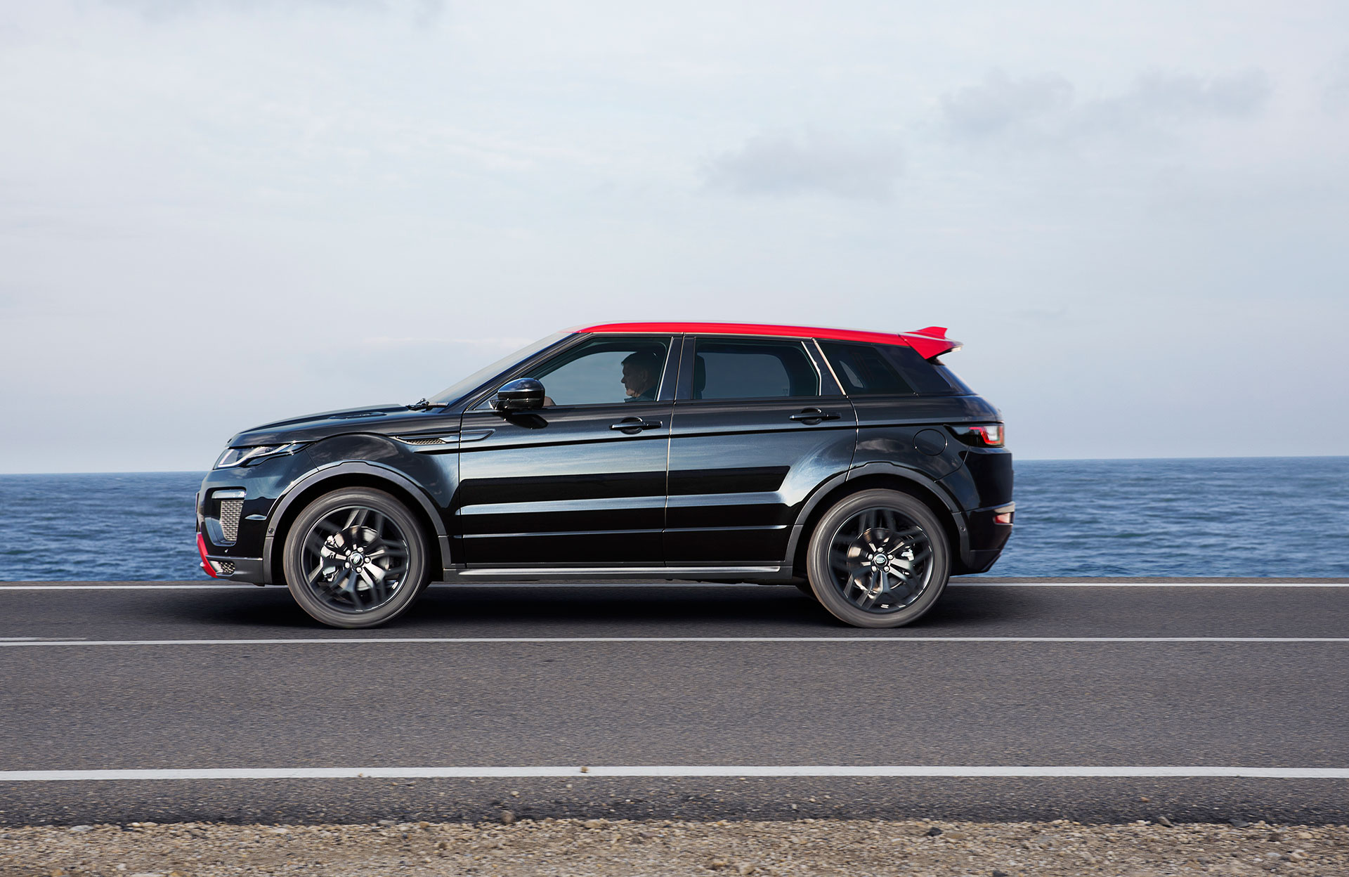 Range Rover Evoque - 2016 - side-face / profil