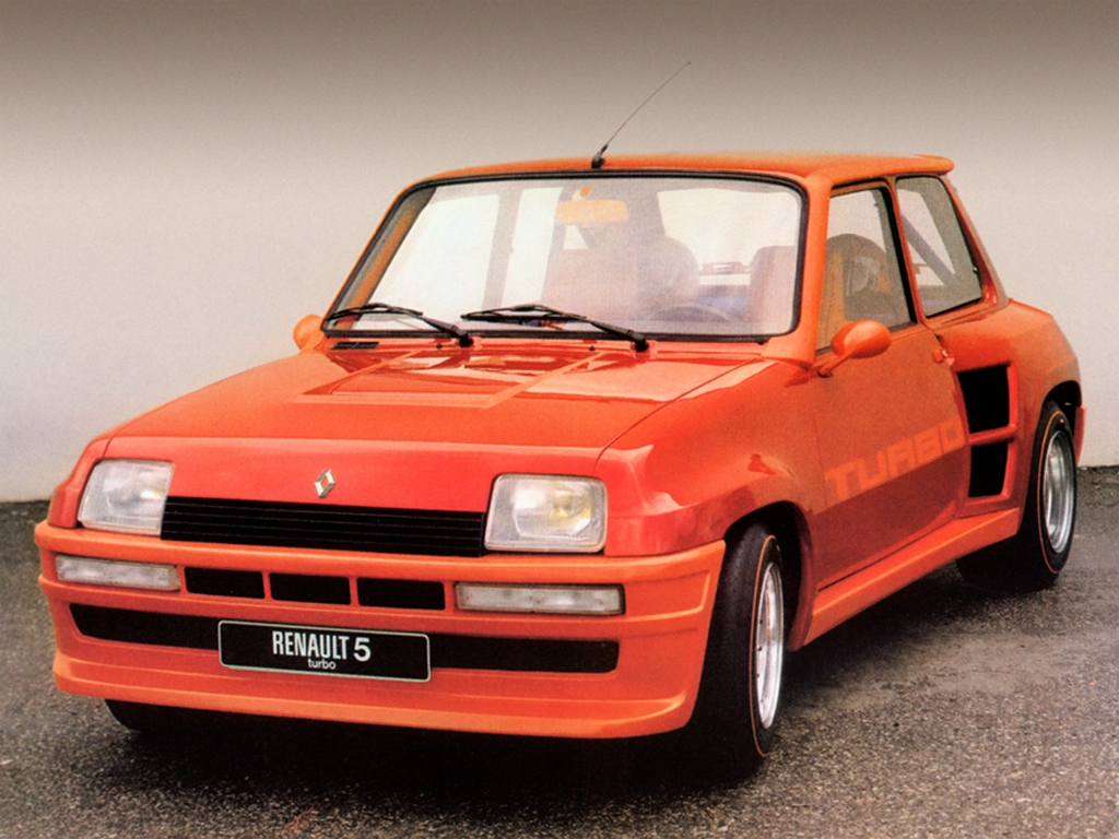 renault 5 turbo petit cl on fonte gros turbo 160 ch 350 ch. Black Bedroom Furniture Sets. Home Design Ideas