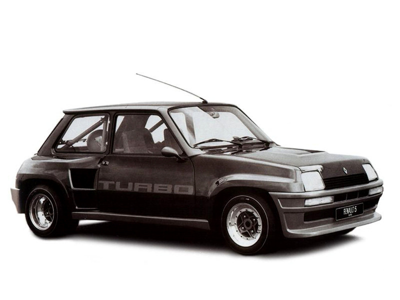 Renault 5 Turbo - 1978 - prototype - profil / side-face