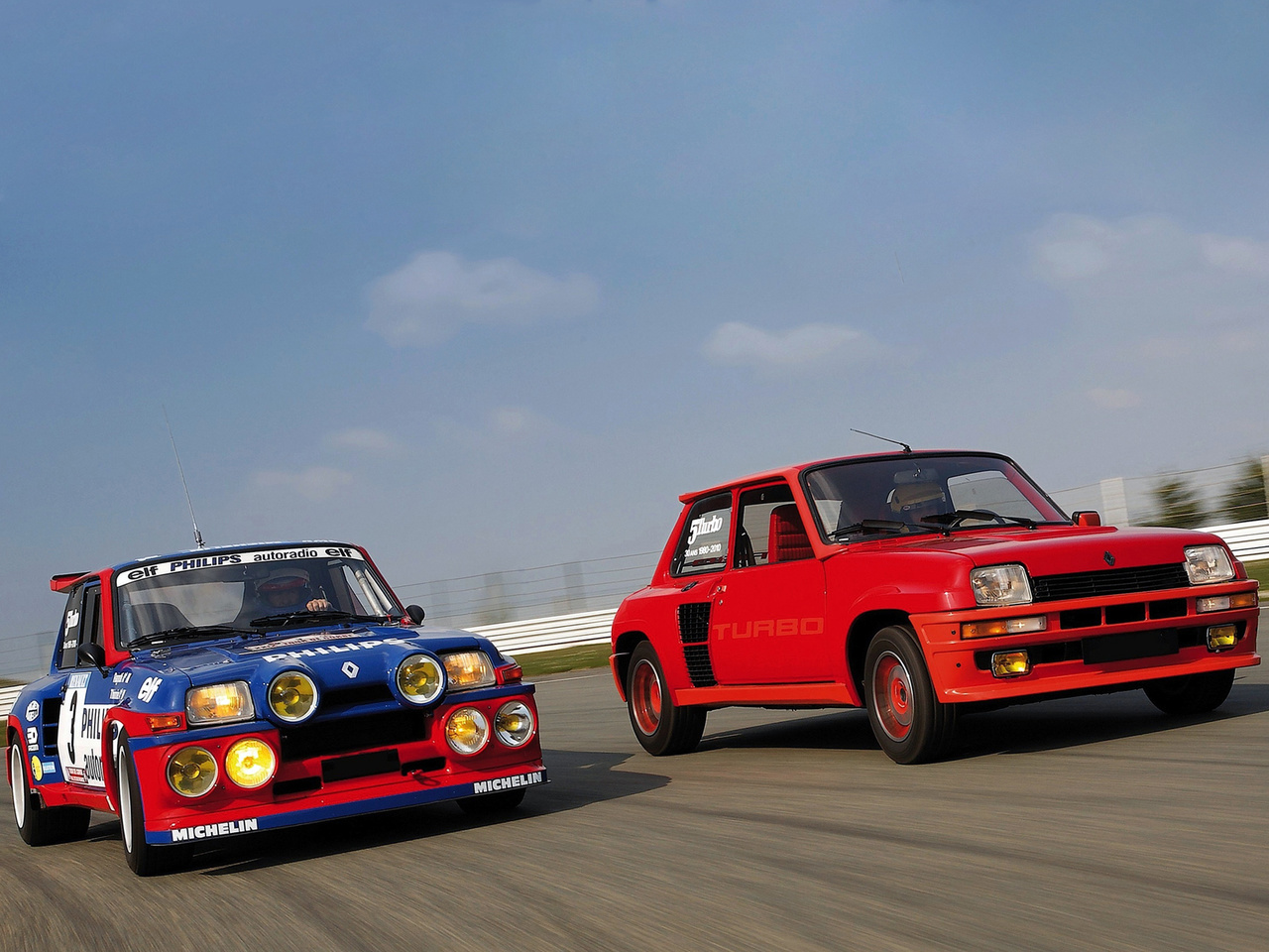 Renault 5 Turbo - rallye - civile