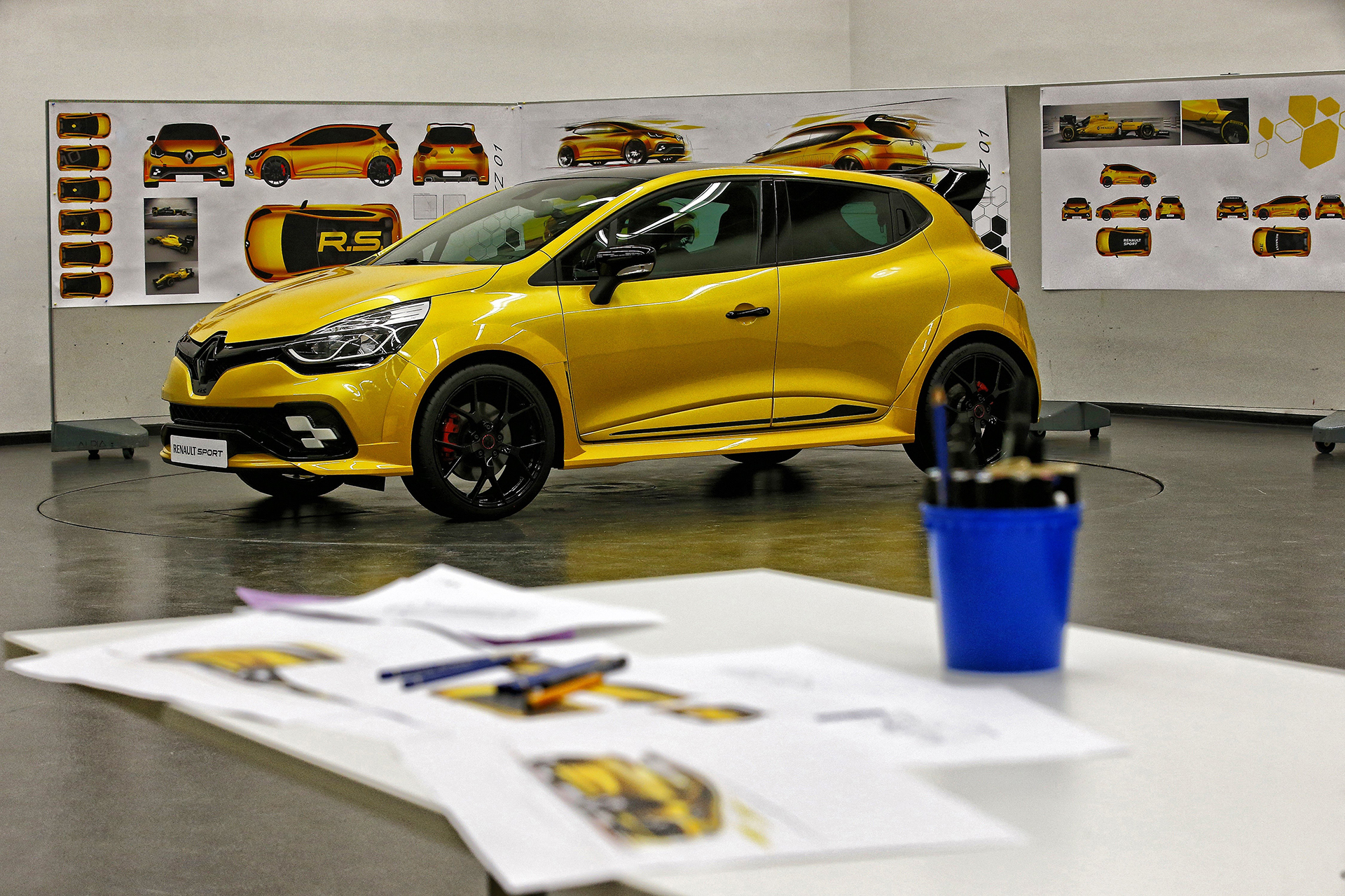 Renault Clio R.S.16 - work in progress - design