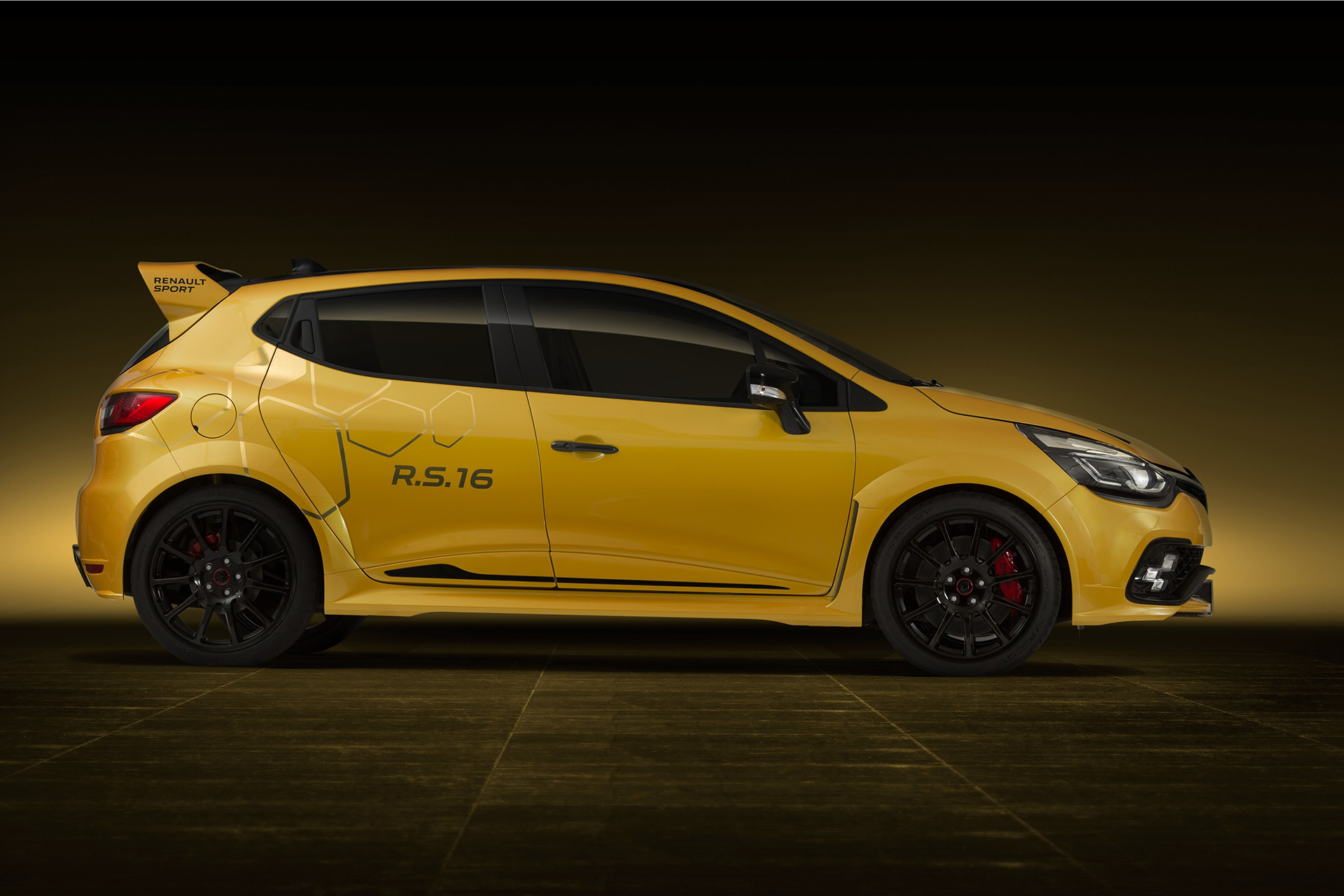 Renault Clio R.S.16 - side-face / profil