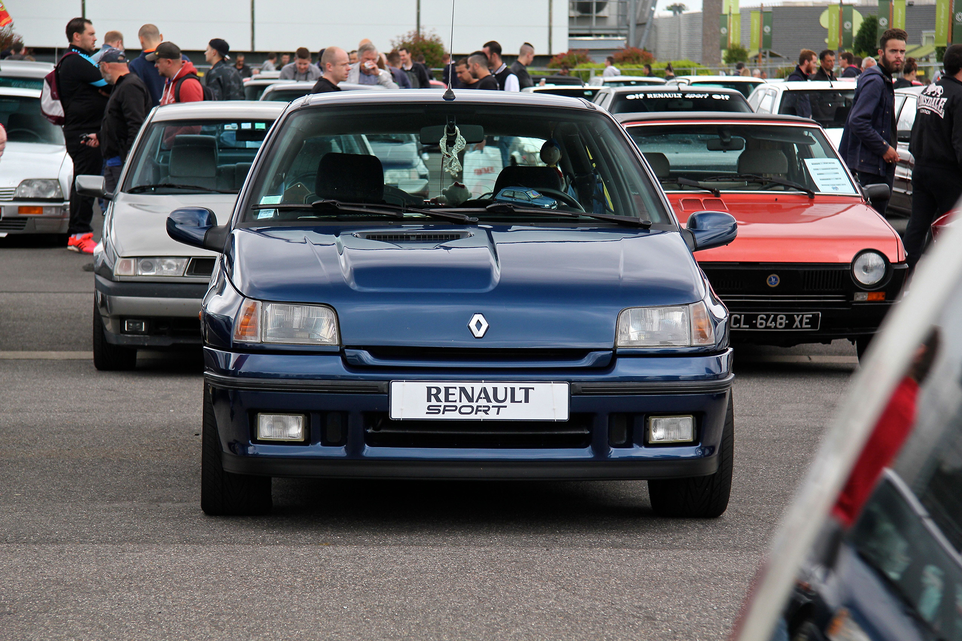 Renault Clio Williams - Youngtimers Meeting - 2016 - photo Ludo Ferrari