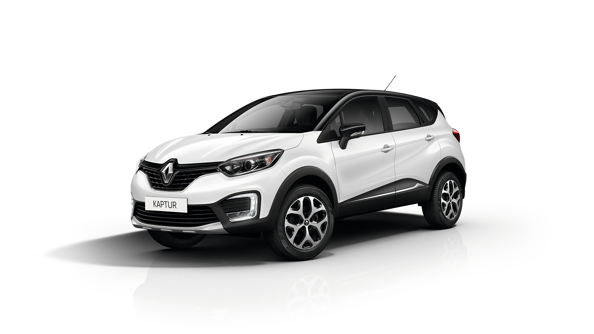 Renault Kaptur - 2016 - front side-face