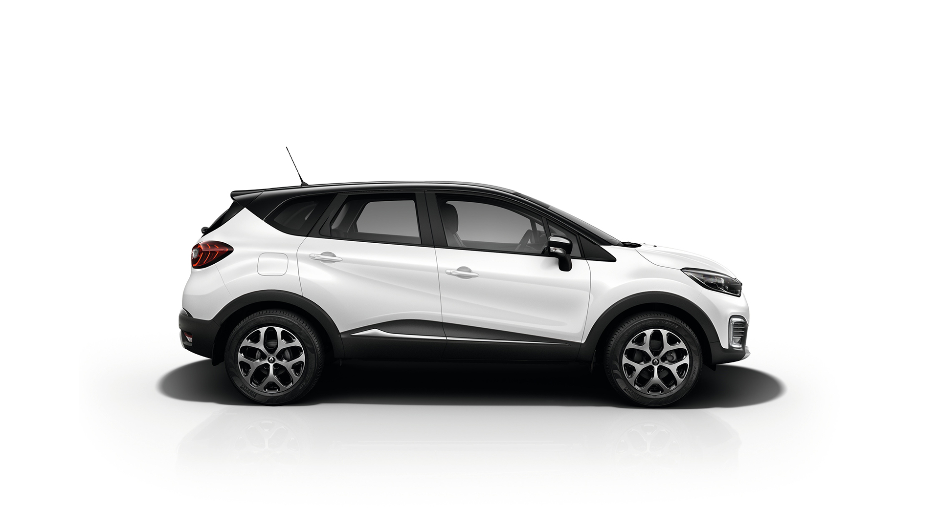 Renault Kaptur - 2016 - side-face
