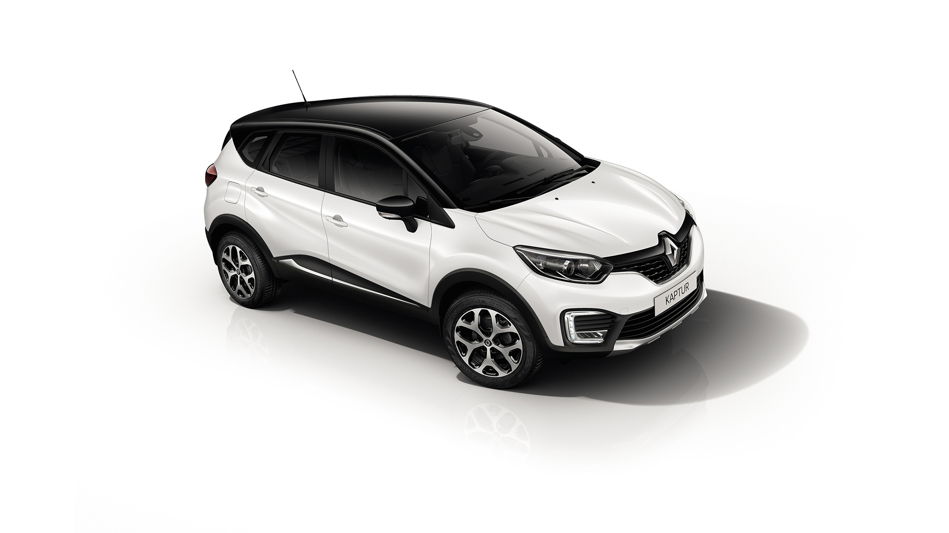 Renault Kaptur - 2016 - top front side-face
