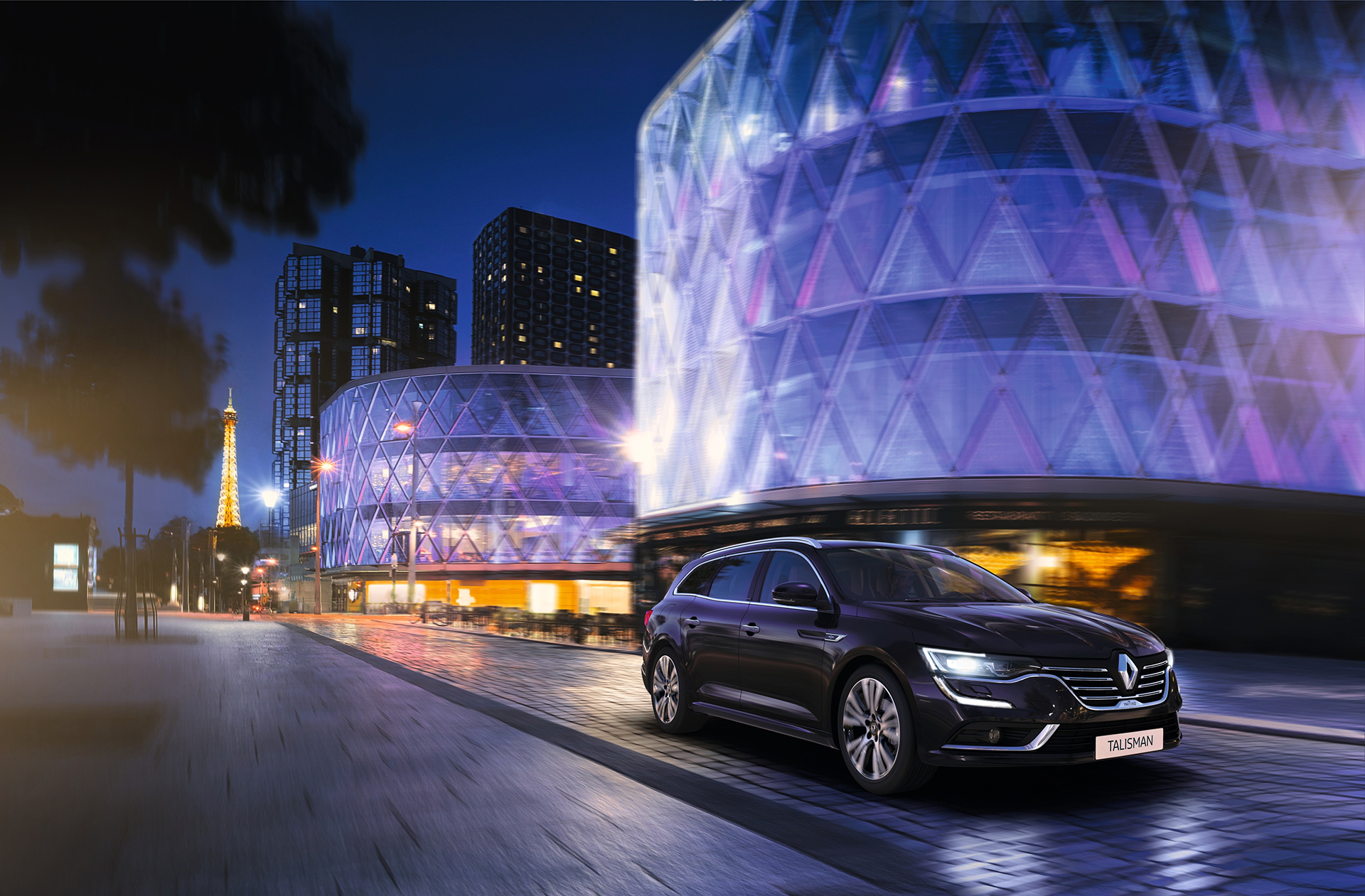 Renault Talisman Estate Initiale Paris - 2016 - profil avant / front side-face