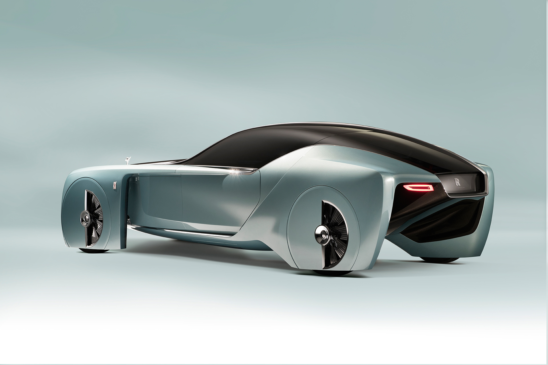 Rolls-Royce VISION NEXT 100 - rear side-face / profil arrière