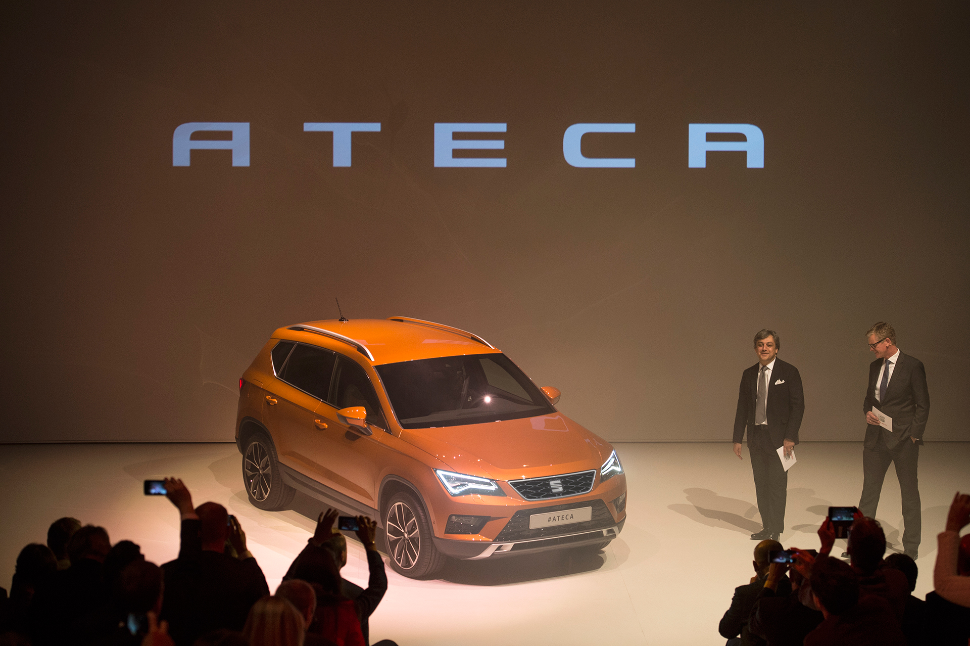 SEAT Ateca - 2016 - Press Conference