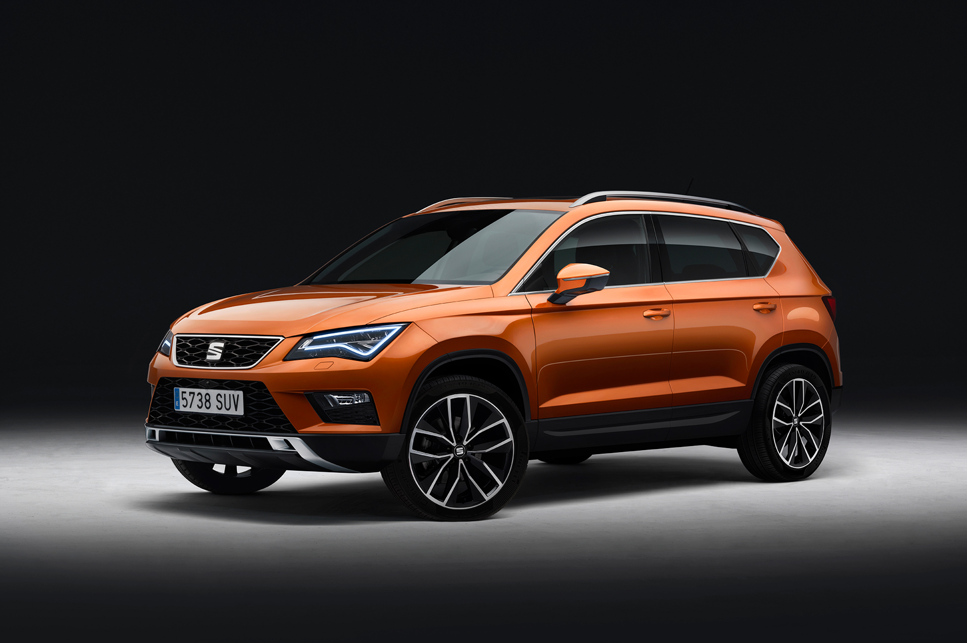 SEAT Ateca - 2016 - front side-face / profil avant