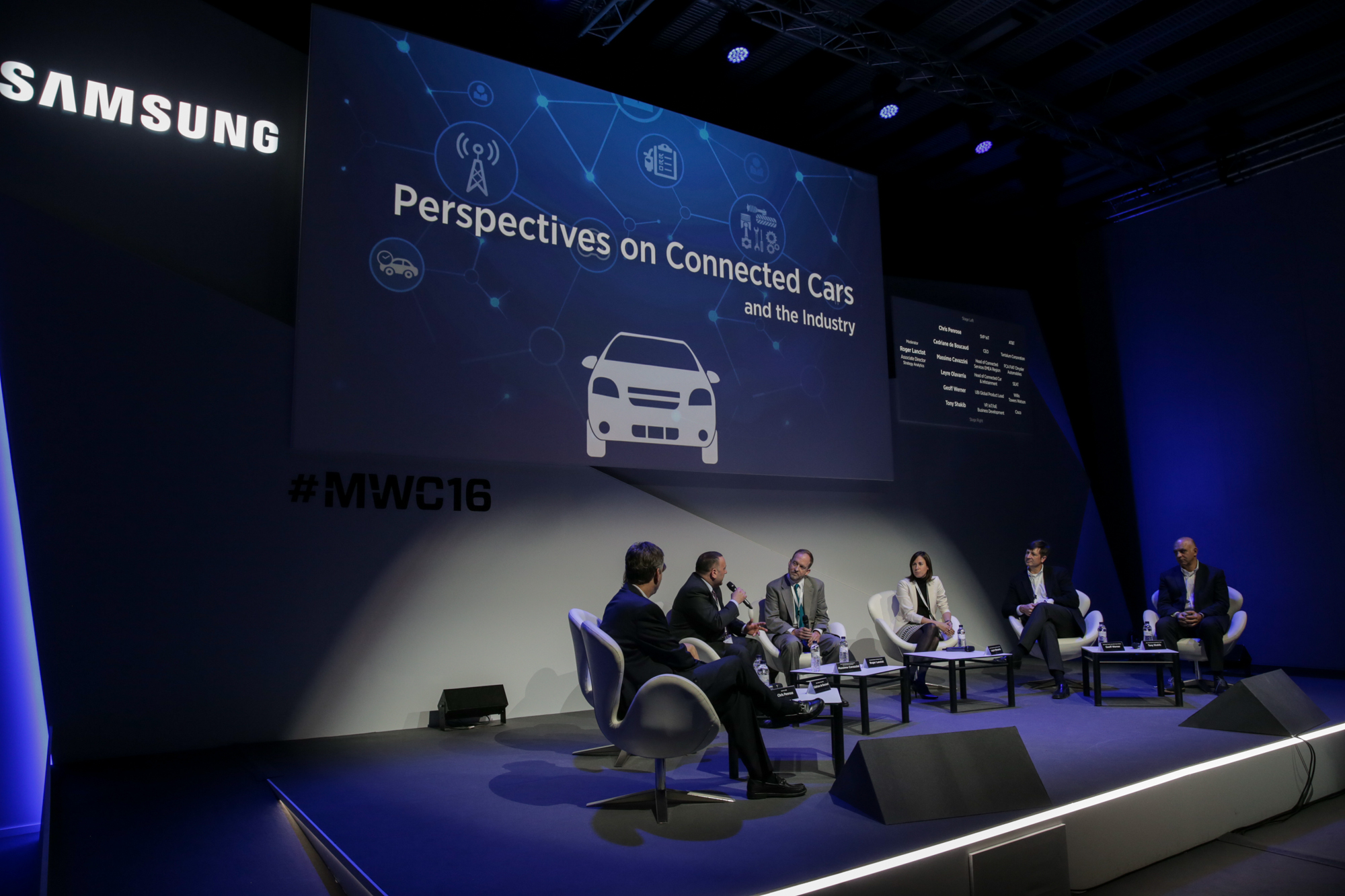 Samsung MWC16 - Keynote - Connected Cars