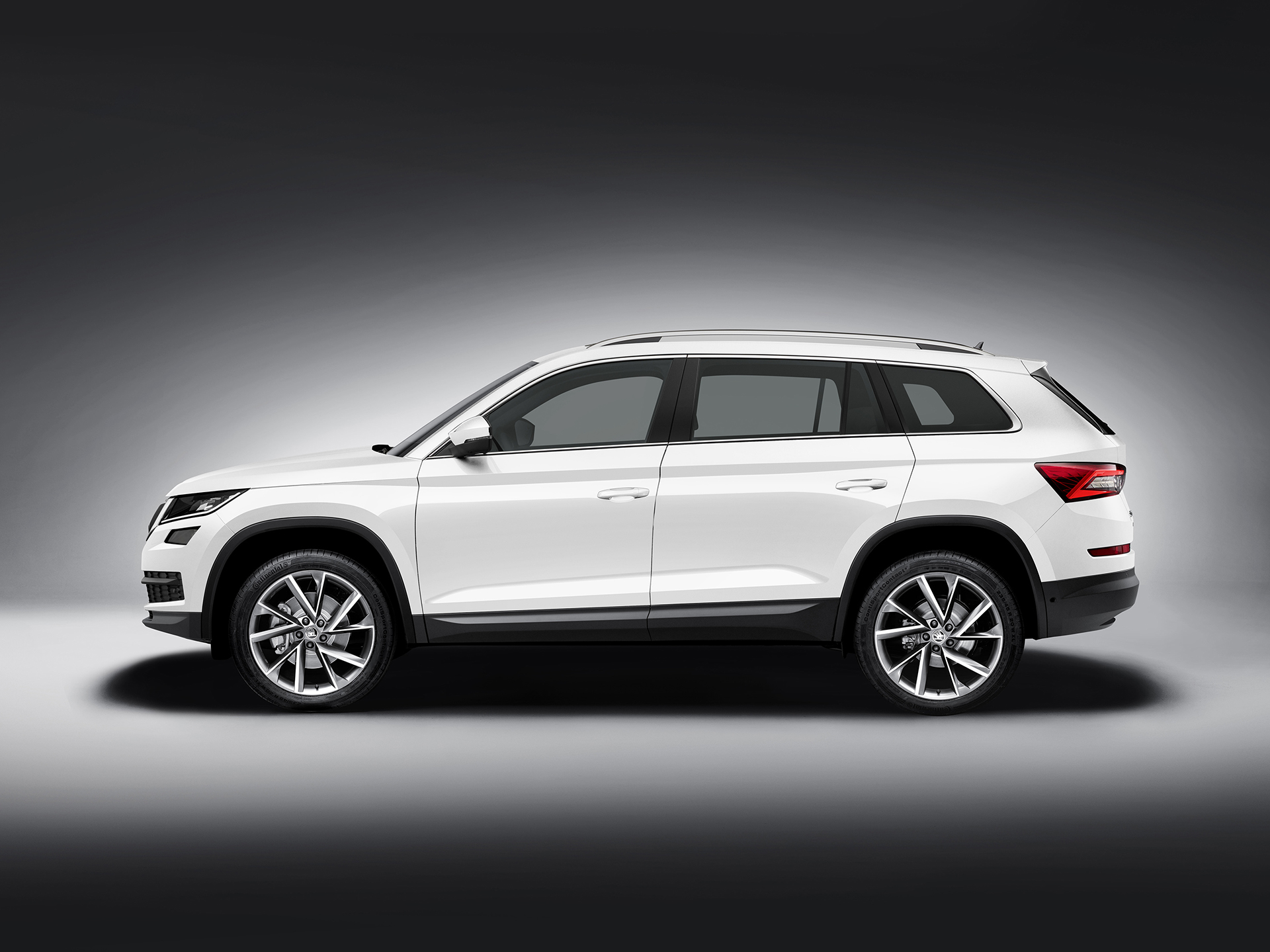 Skoda Kodiaq - 2016 - side-face / profil