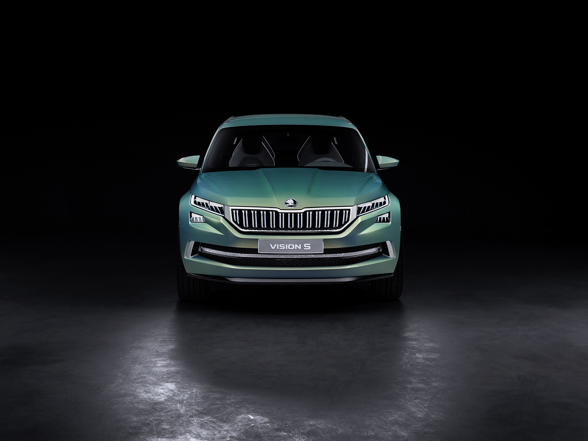 Skoda VisionS Concept - 2016 - front-face / face avant