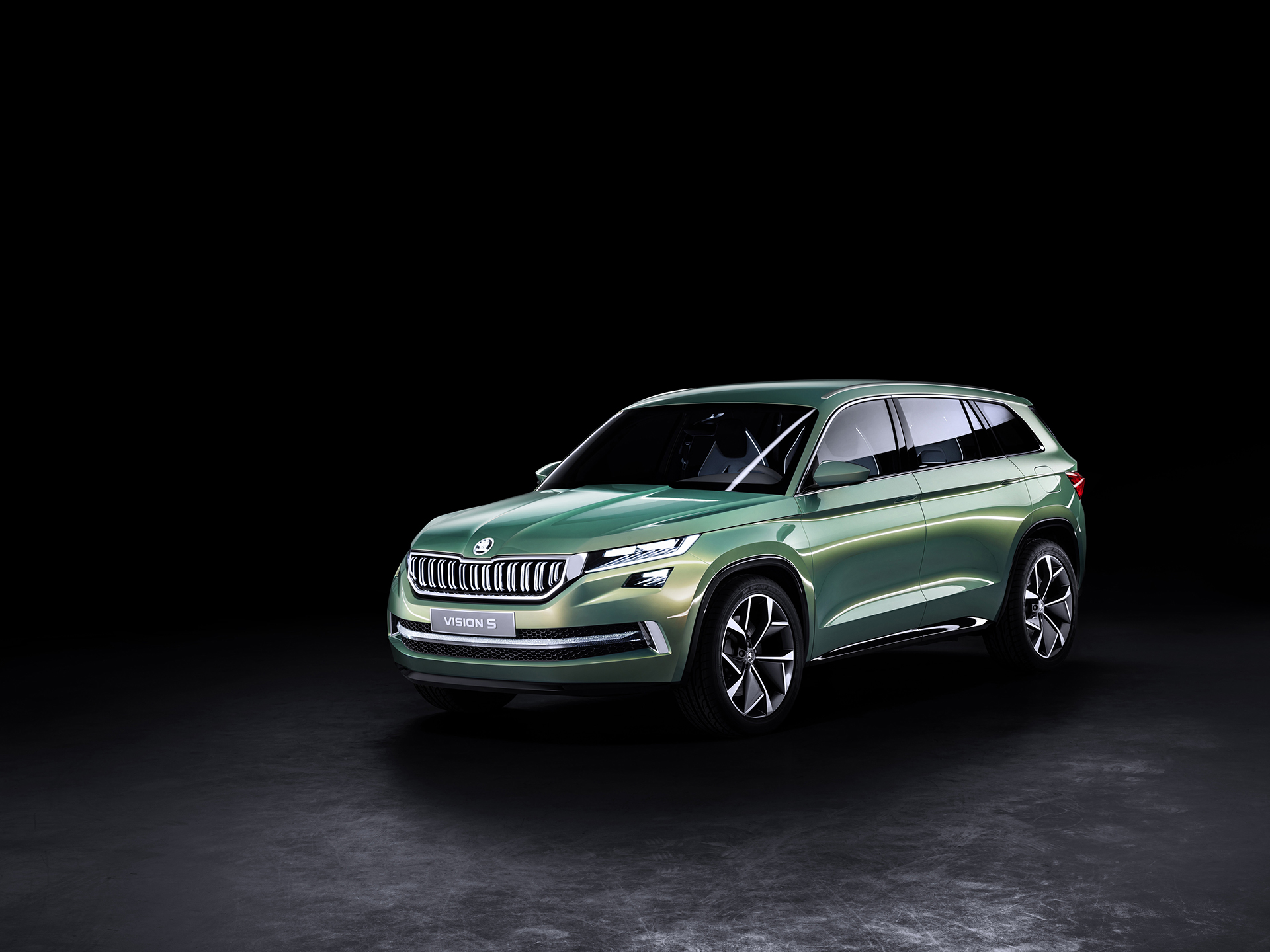 Skoda VisionS Concept - 2016 - front-side-face / profil avant
