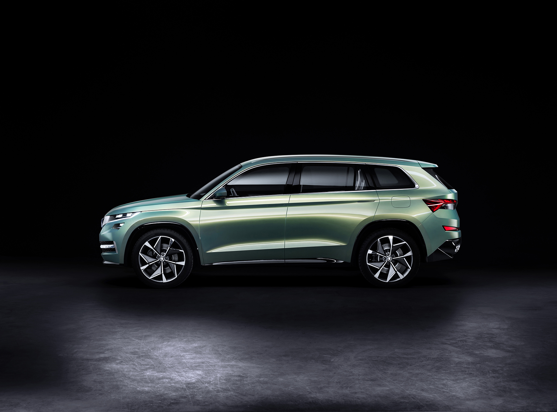 Skoda VisionS Concept - 2016 - side-face / profil