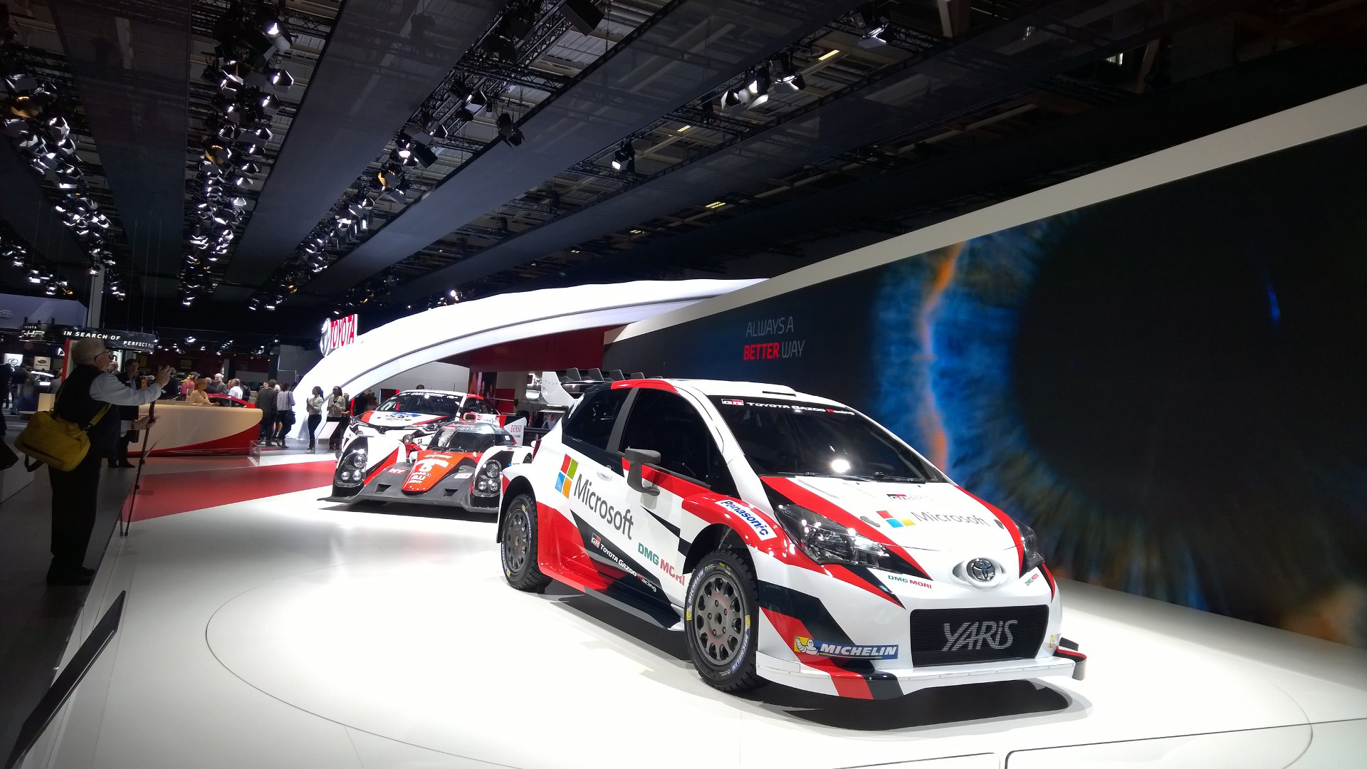 Toyota Yaris WRC - 2016 - Mondial Auto - photo ELJ DM