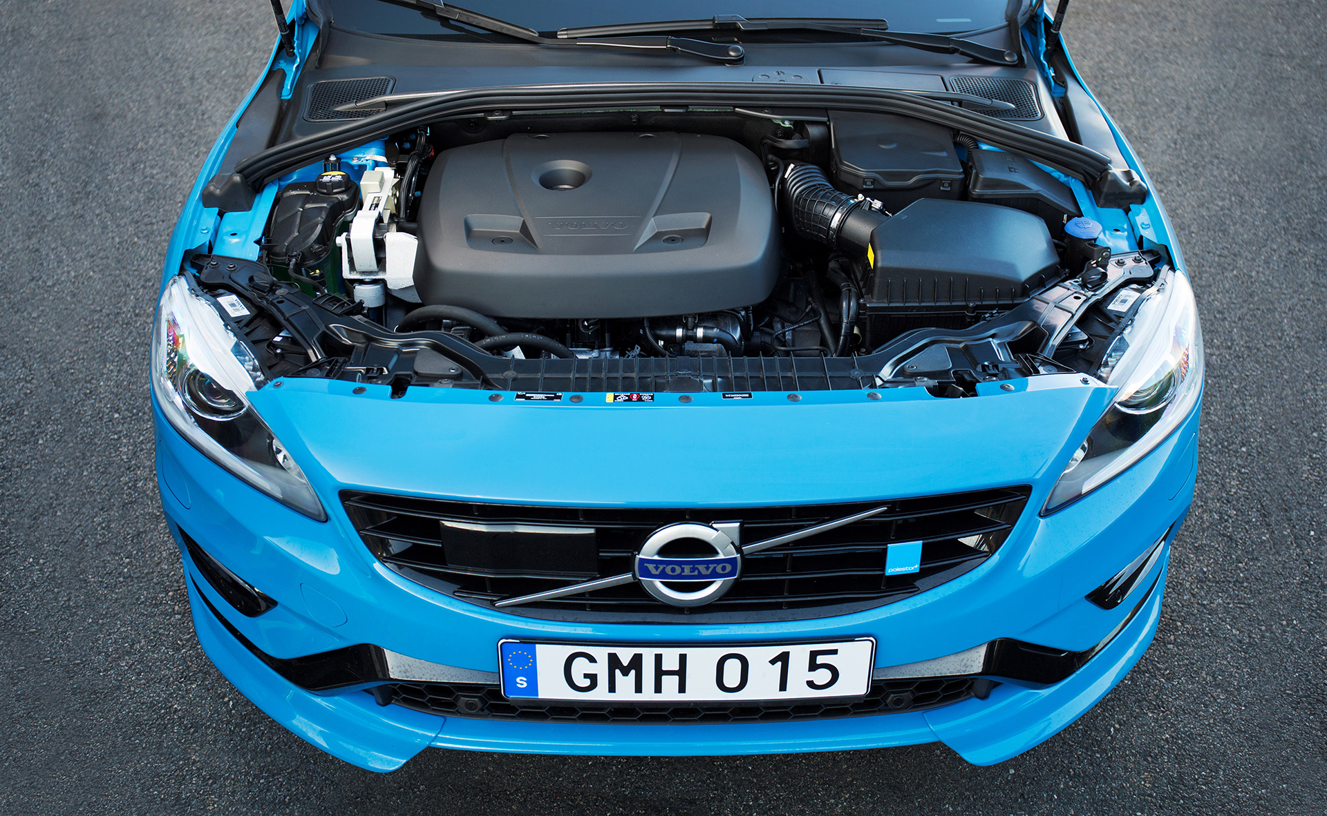 Volvo Polestar 2016 - under the hood - sous le capot
