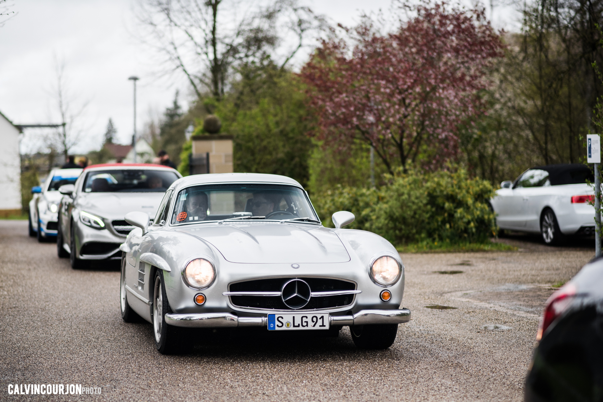 Mercedes Benz 300SL side face - 2016 - Calvin Courjon Photographie