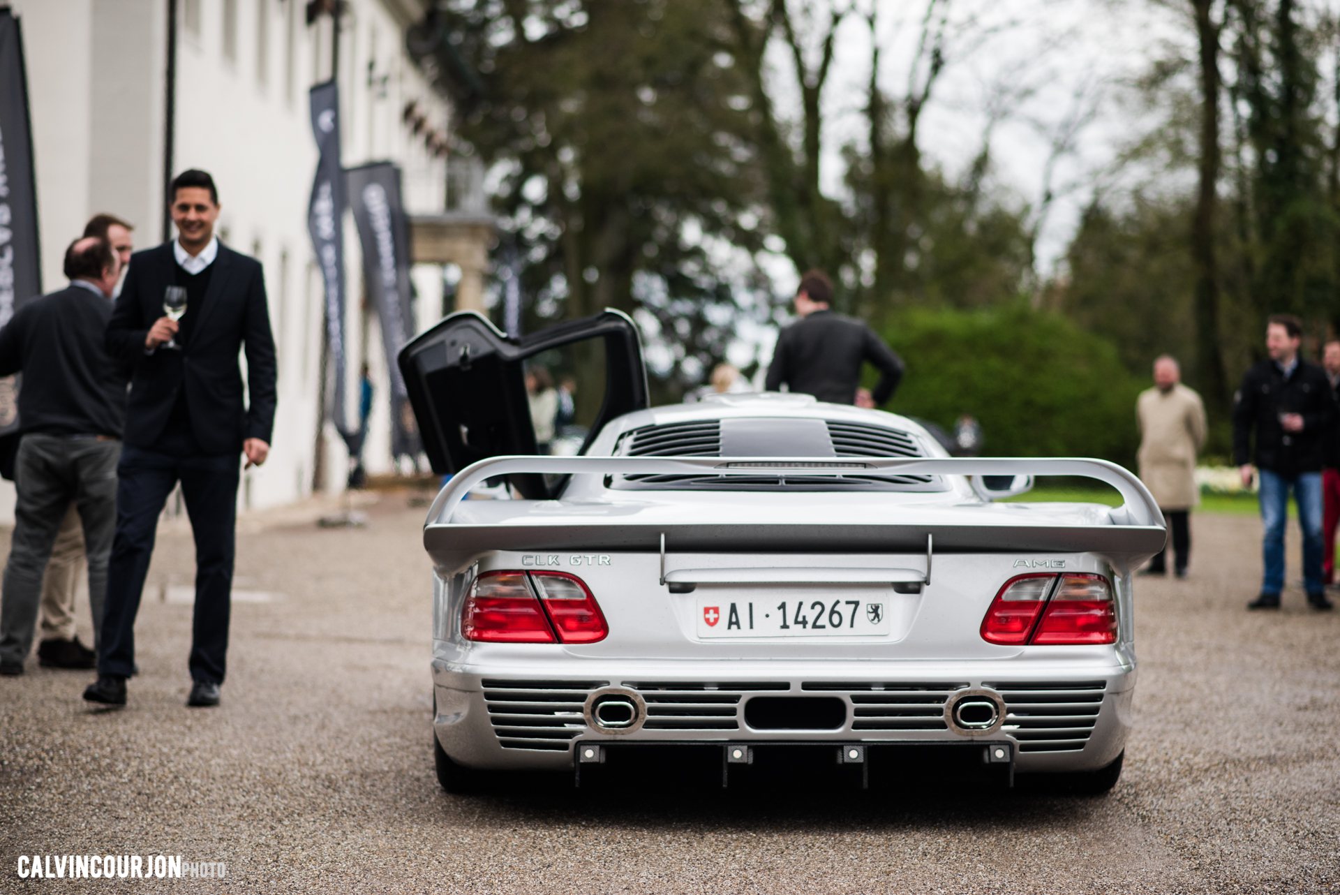 Mercedes Benz CLK GTR rear - 2016 - Calvin Courjon Photographie