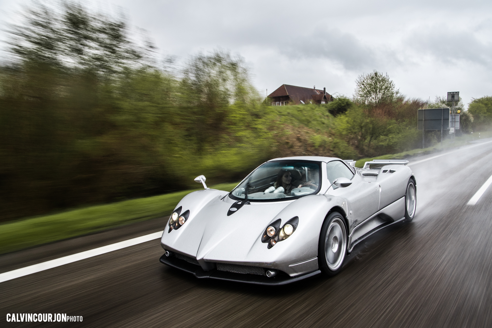 Pagani Zonda F side face - 2016 - Calvin Courjon Photographie