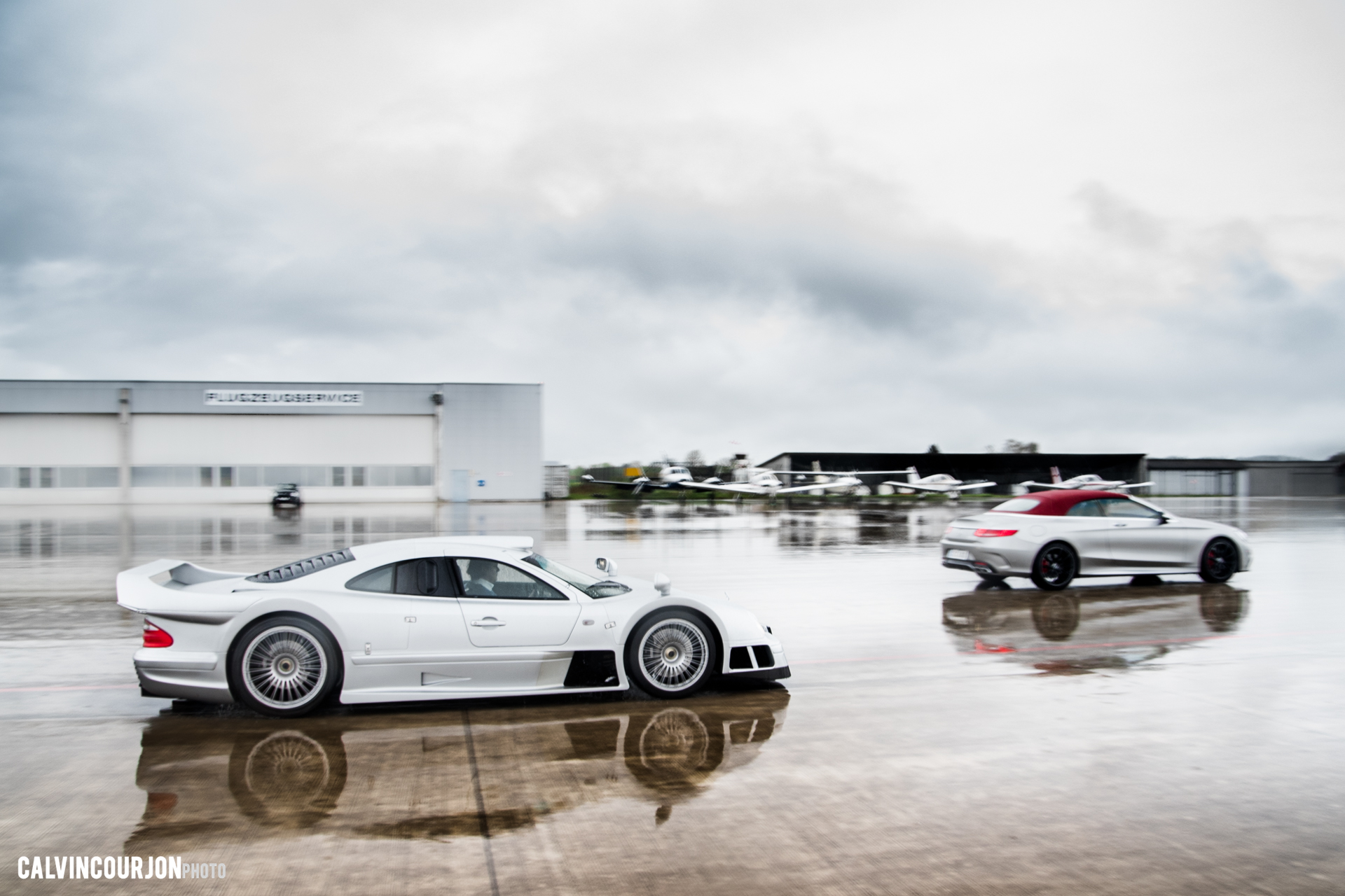 CLK GTR side face aeroport track - 2016 - Calvin Courjon Photographie