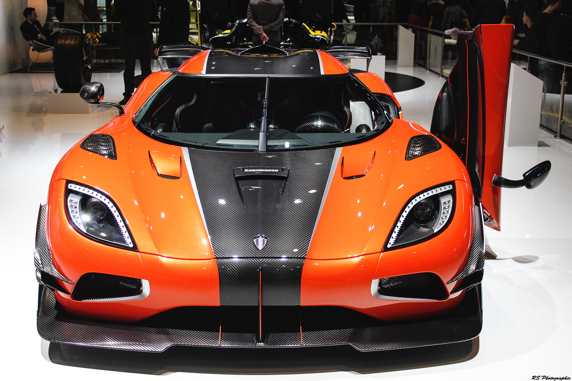 Koenigsegg Agera Final One of 1 - front - Geneva 2016 - Arnaud Demasier RS Photographie