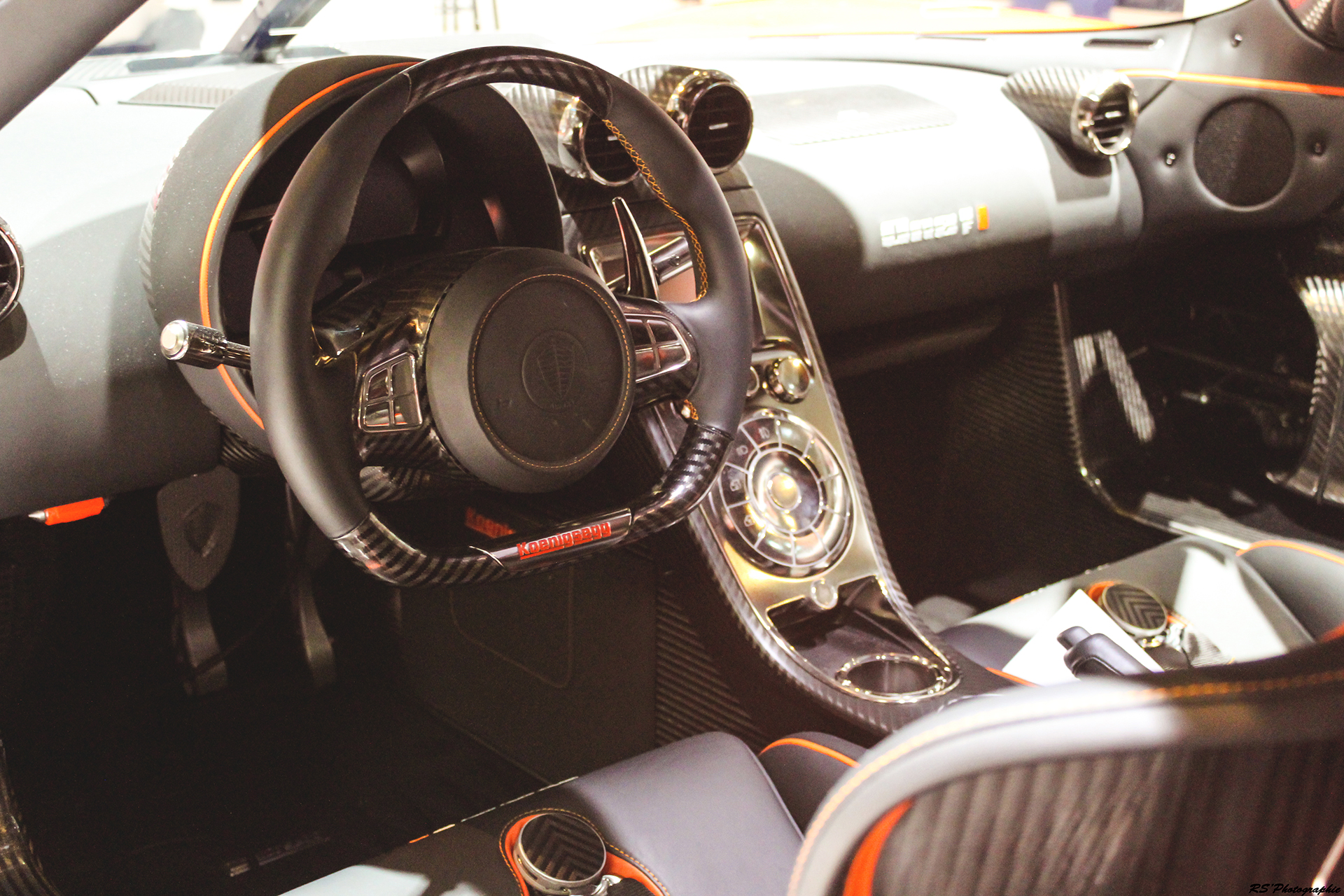 Koenigsegg Agera Final One of 1 - interior - Geneva 2016 - Arnaud Demasier RS Photographie