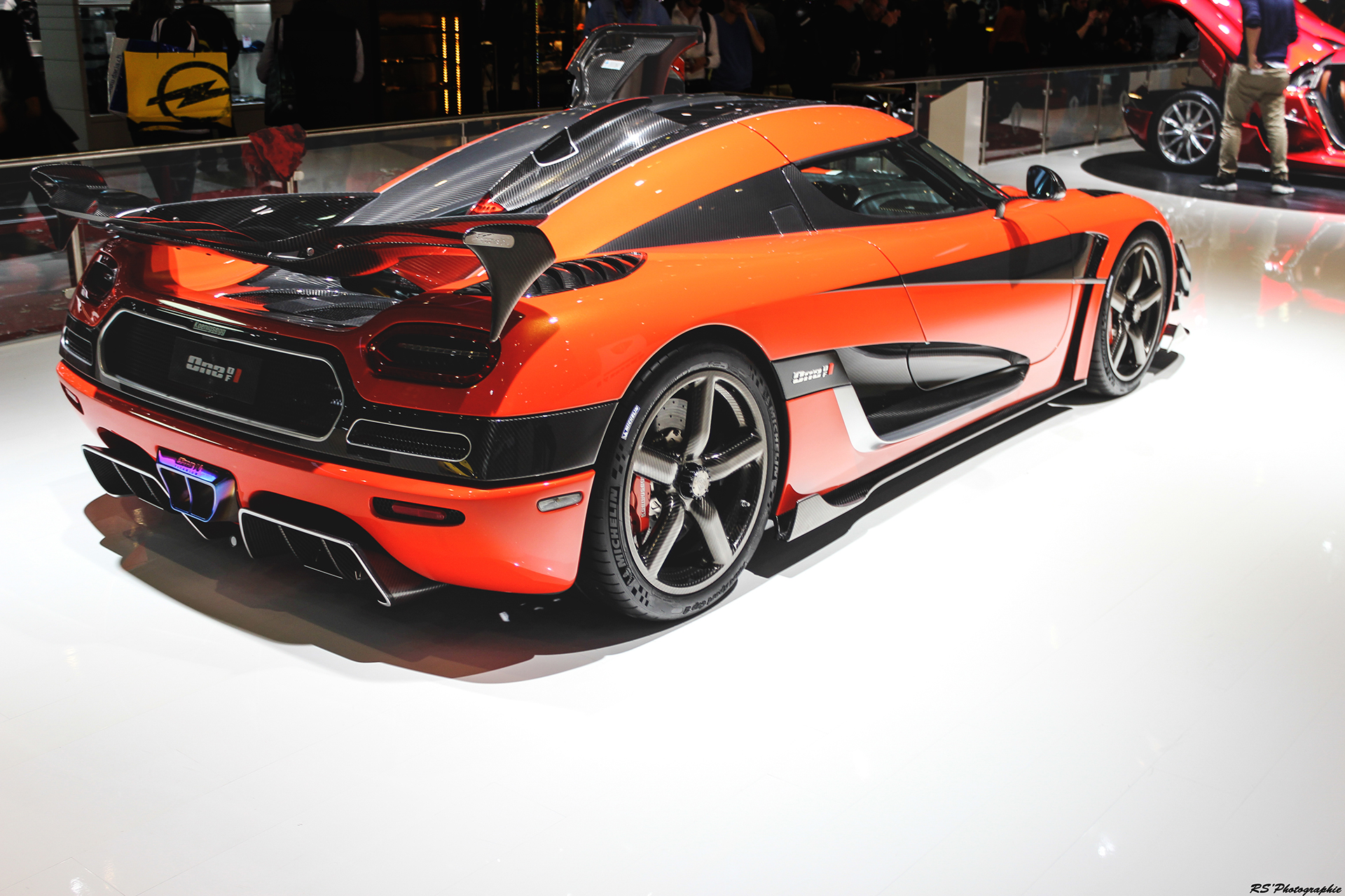 Koenigsegg Agera Final One of 1 - rear side-face - Geneva 2016 - Arnaud Demasier RS Photographie