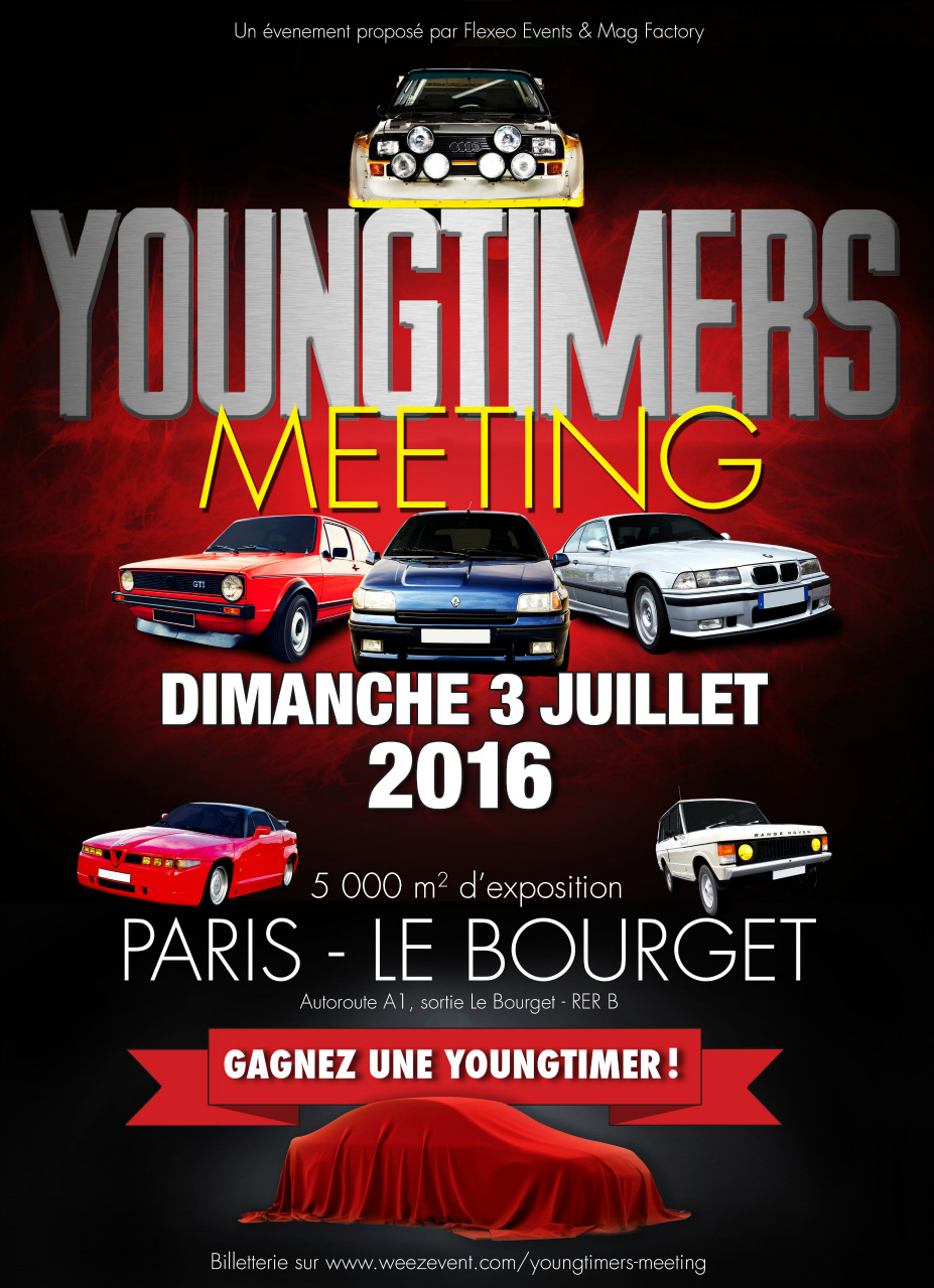 poster Yougtimers Meeting  2016